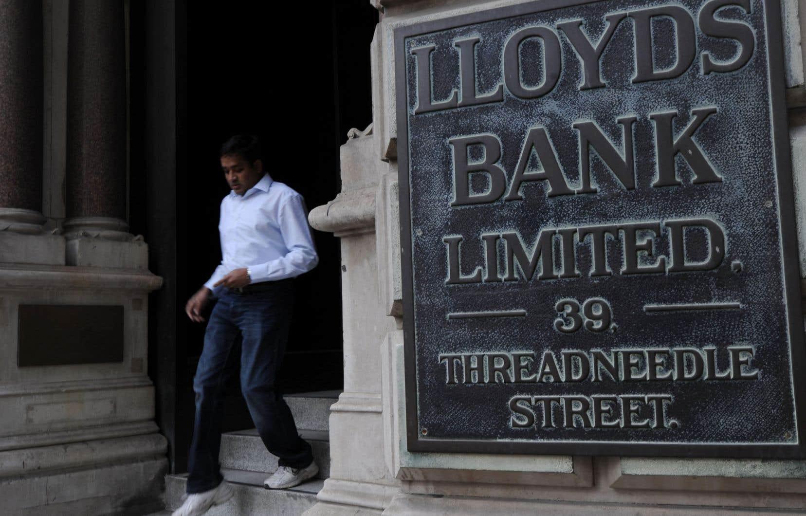 Le siège social de la Lloyds à Londres