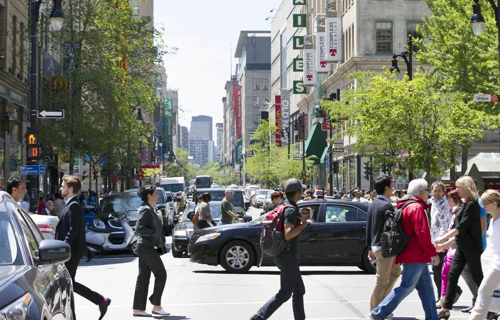 La rue Sainte-Catherine subira une cure de rajeunissement au cours des prochaines années.