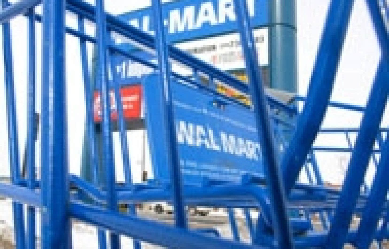 La demande d'intenter un recours collectif contre Wal-Mart n'émane pas du syndicat, mais est une initiative personnelle d'anciens travailleurs.