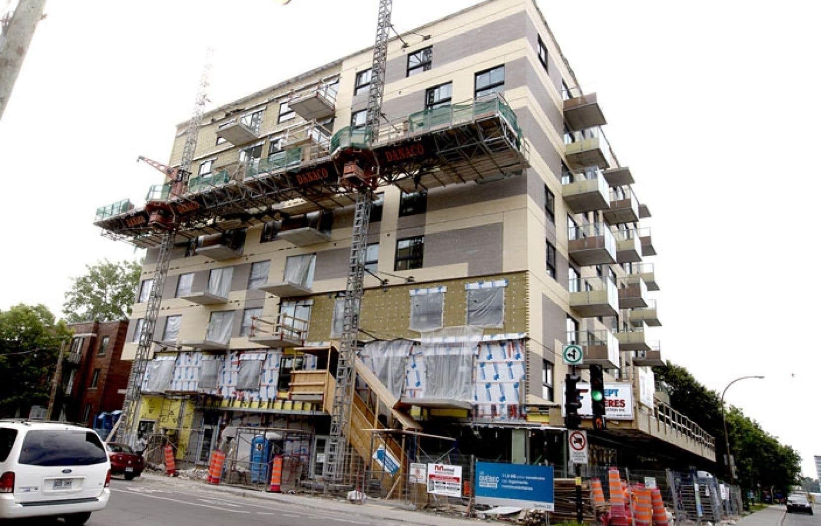 Le projet Victoria-Barclay, dans l'arrondissement Côte-des-Neiges–Notre-Dame-de-Grâce, comprendra 67 logements abordables destinés à des familles.