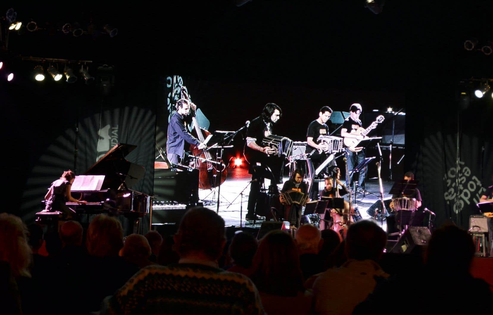 À Montréal, le Quinteto Negro La Boca présentera le concert de son nouveau DVD.