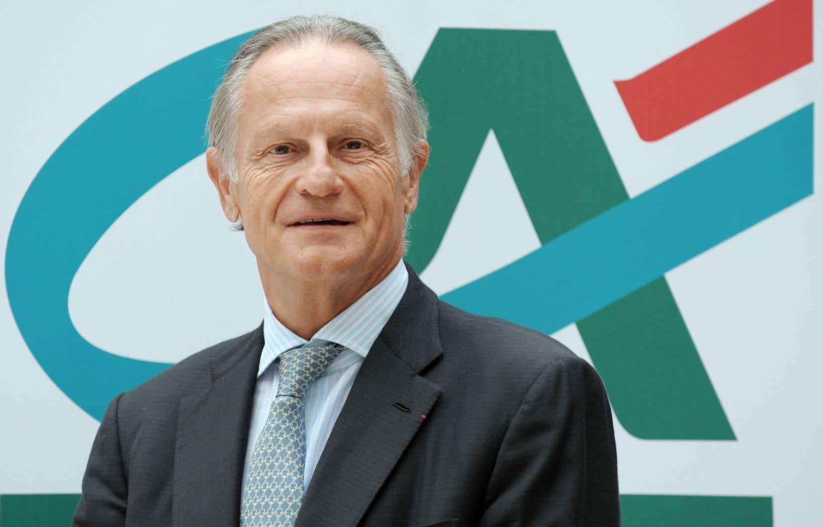 Jean-Paul Chifflet, directeur général du Crédit Agricole