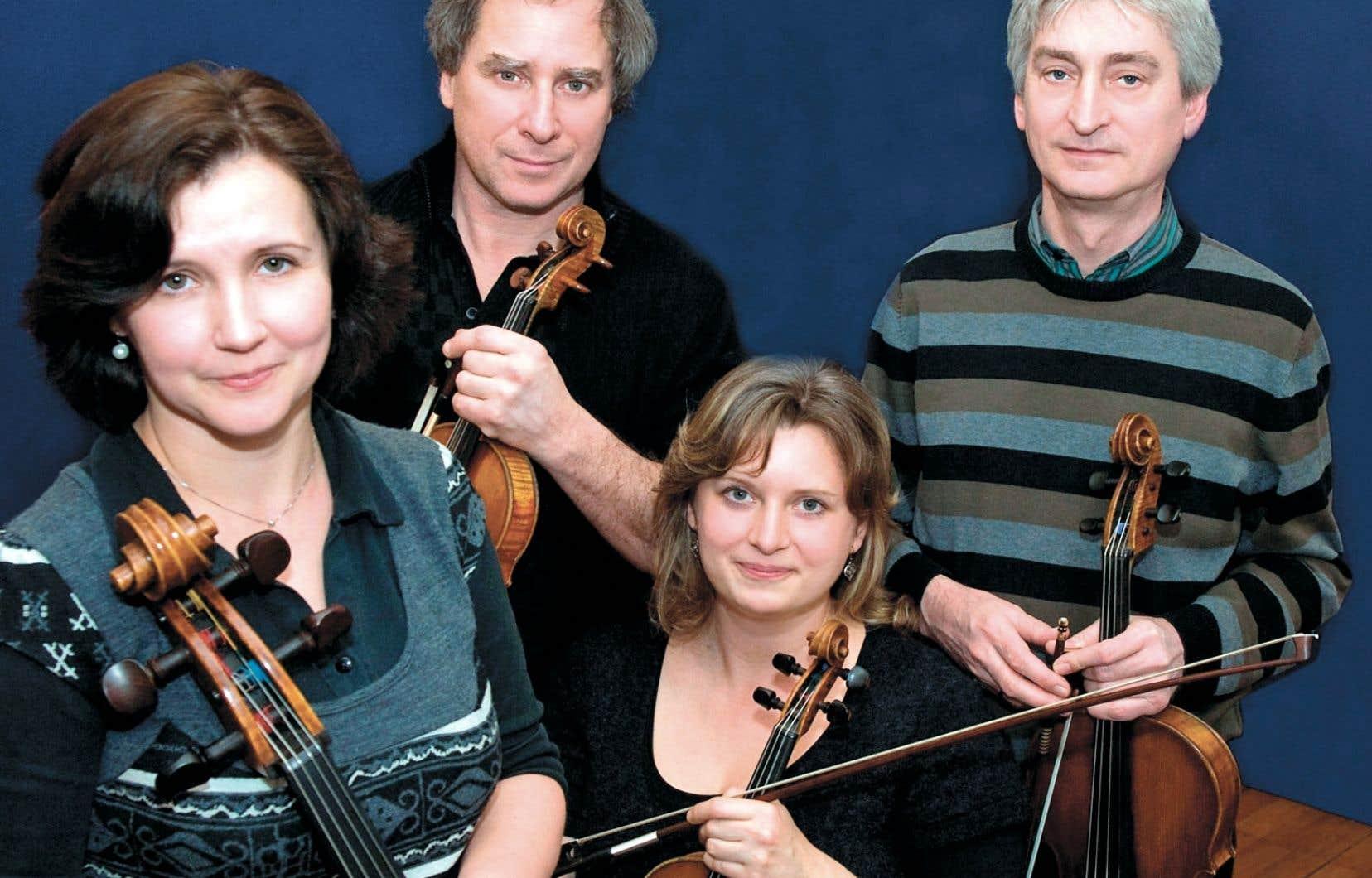 Le Quatuor Keller
