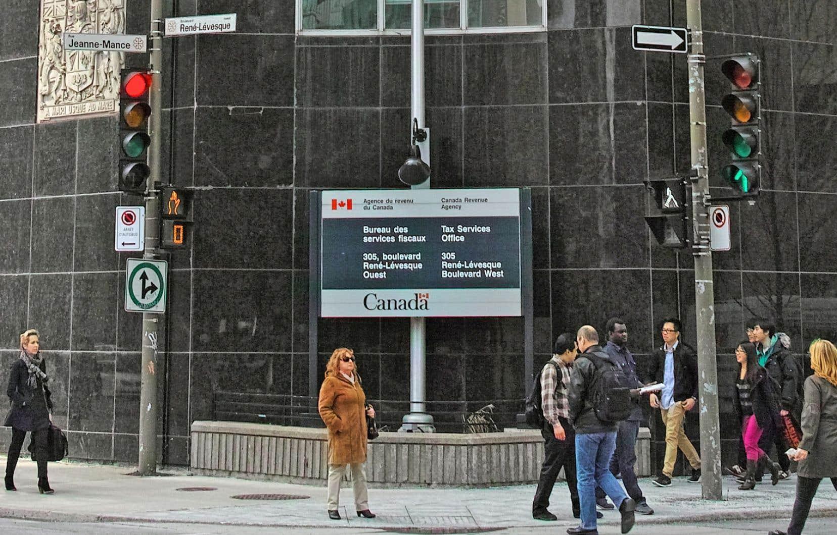 L'Agence de revenu du Canada dispose d'une équipe de 15 vérificateurs pour examiner les démarches politiques des organismes sélectionnés.