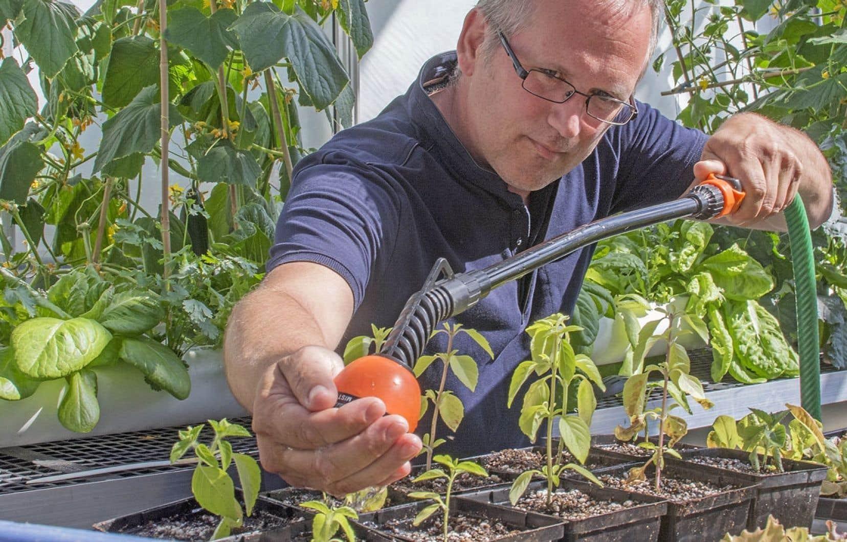 Pour Éric Duchemin, l'enjeu fondamental est la justice alimentaire.