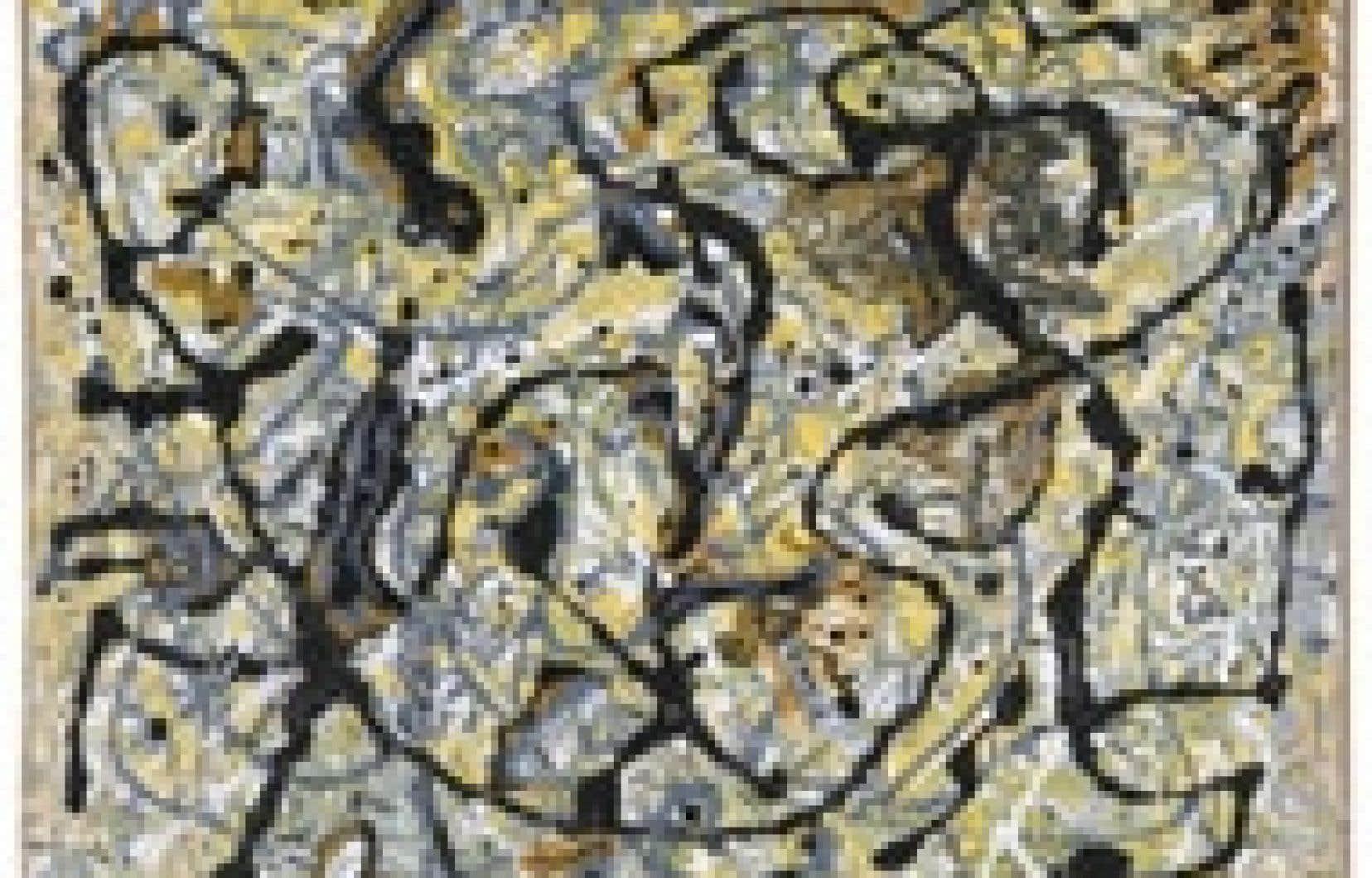 Une analyse mathématique a montré que derrière le chaos apparent des toiles de Jackson Pollock se cachent des structures similaires qui se répètent à l'infini.