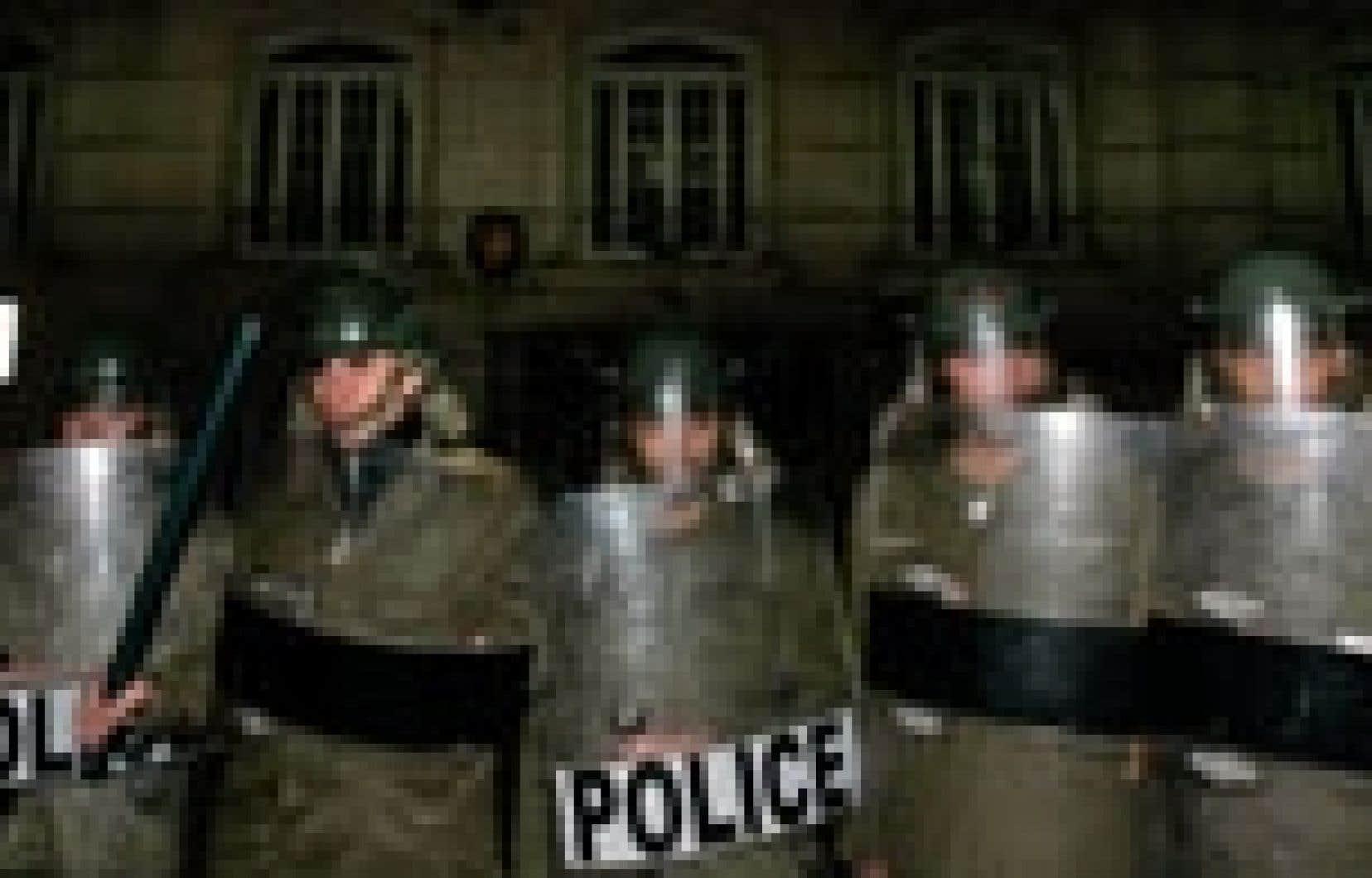 Sur l'ordre du gouvernement, la police iranienne a protégé hier l'ambassade norvégienne à Téhéran.