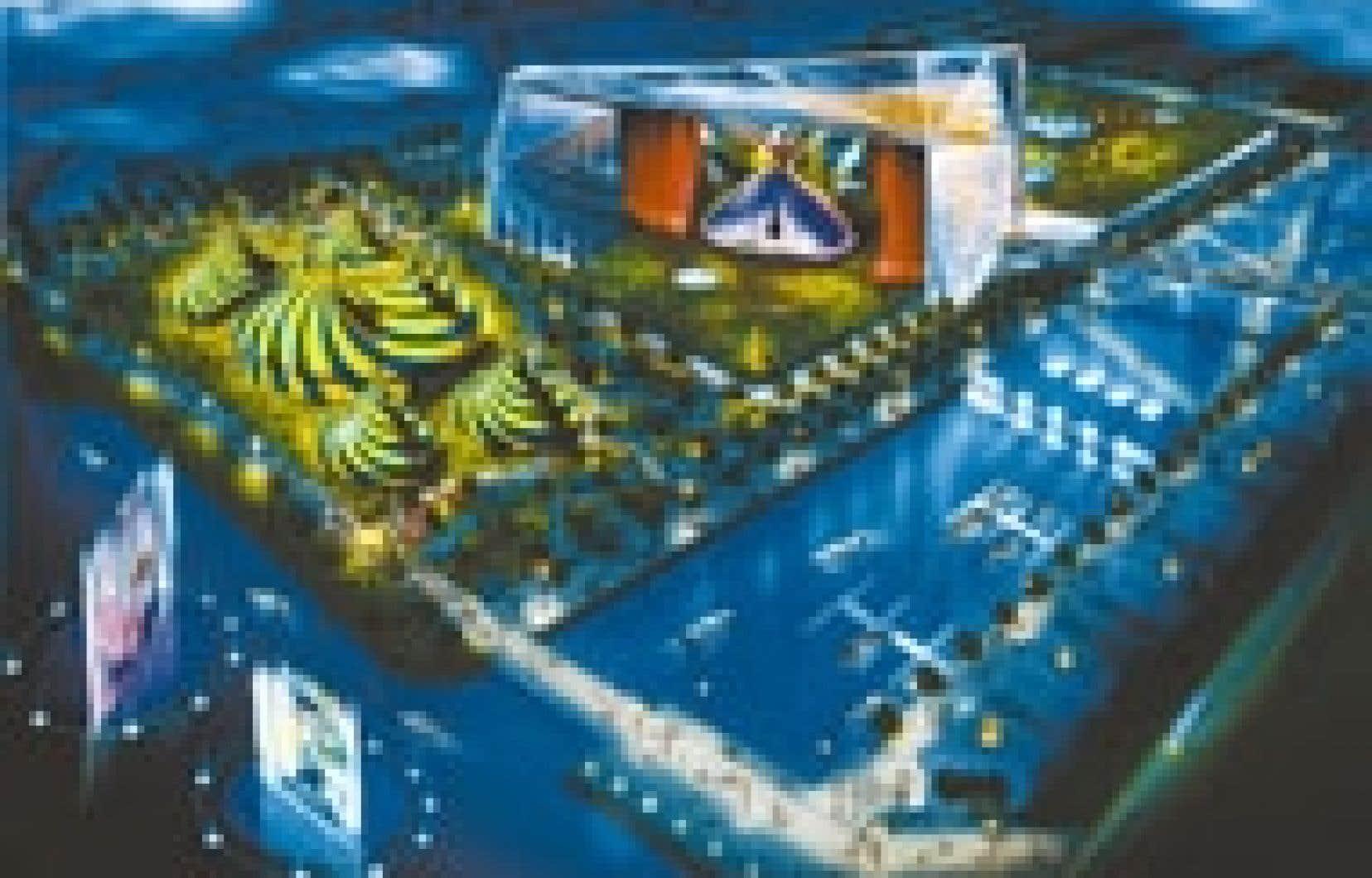 Le projet conjoint de Loto-Québec et du Cirque du Soleil. Source: Cirque du Soleil