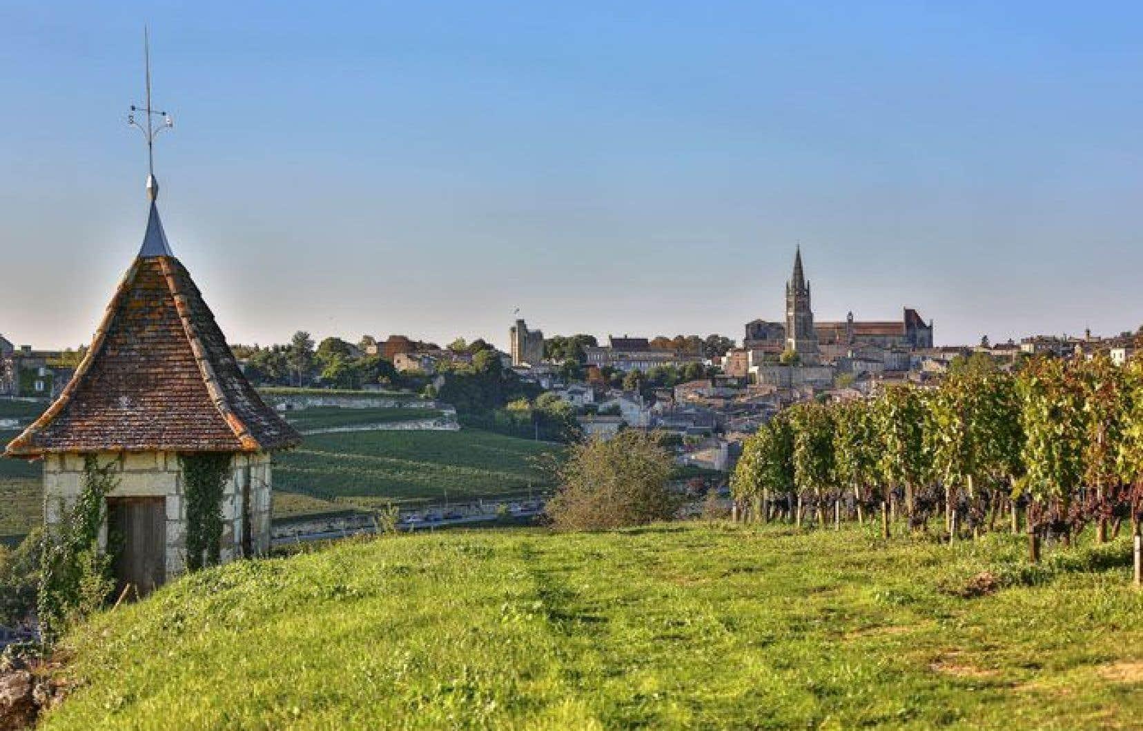 La cabane du vigneron. L'ensemble du vignoble de Saint-Émilion (7846 hectares) a été inscrit pour la première fois au monde au Patrimoine de l'UNESCO en 1999.