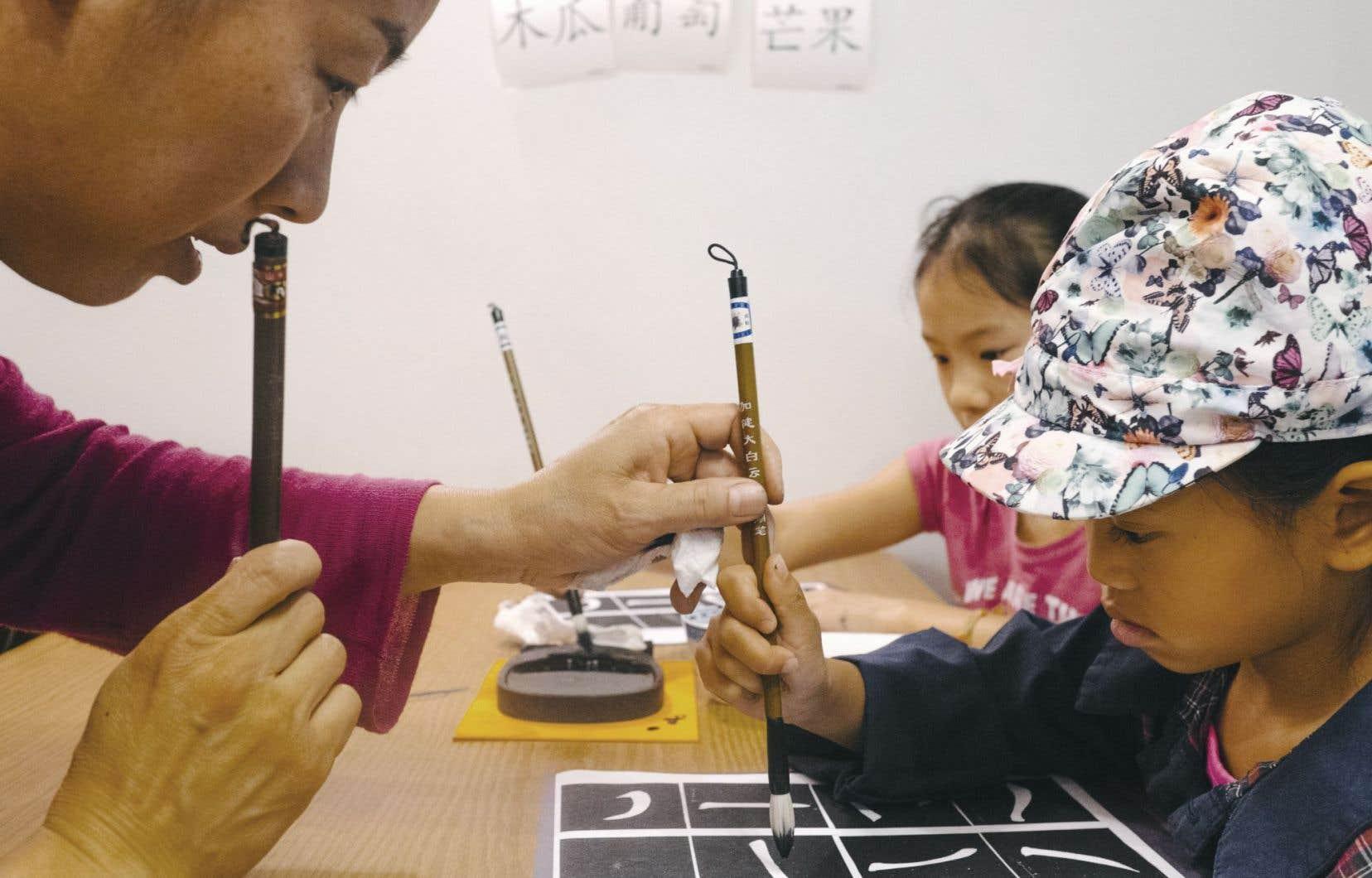 Le camp Kuihua accueille des enfants originaires de la Chine, bien sûr, mais de petits Québécois «pure laine» le fréquentent aussi.