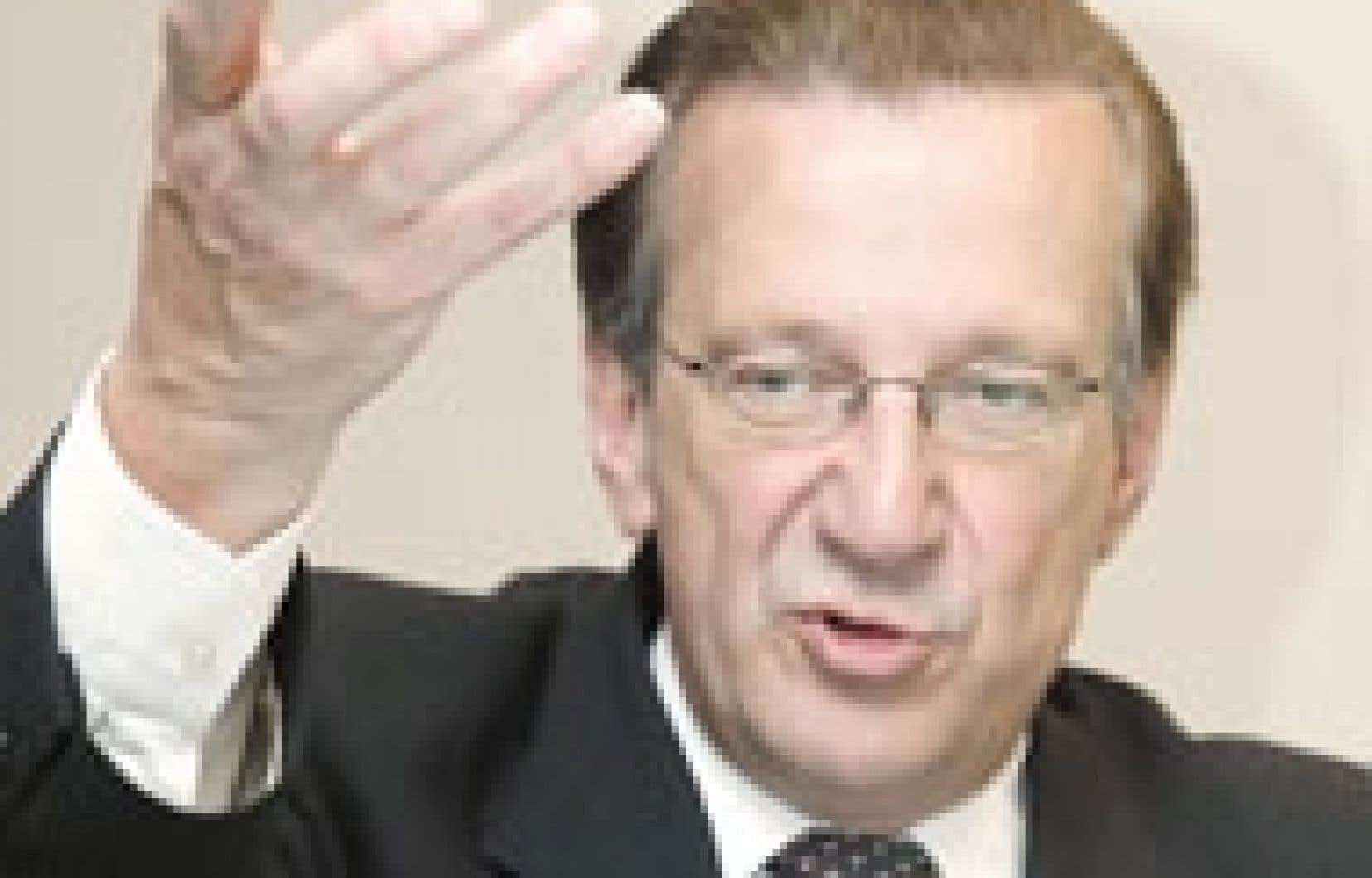 Pierre Genest, p.-d.g du Fonds de solidarité.