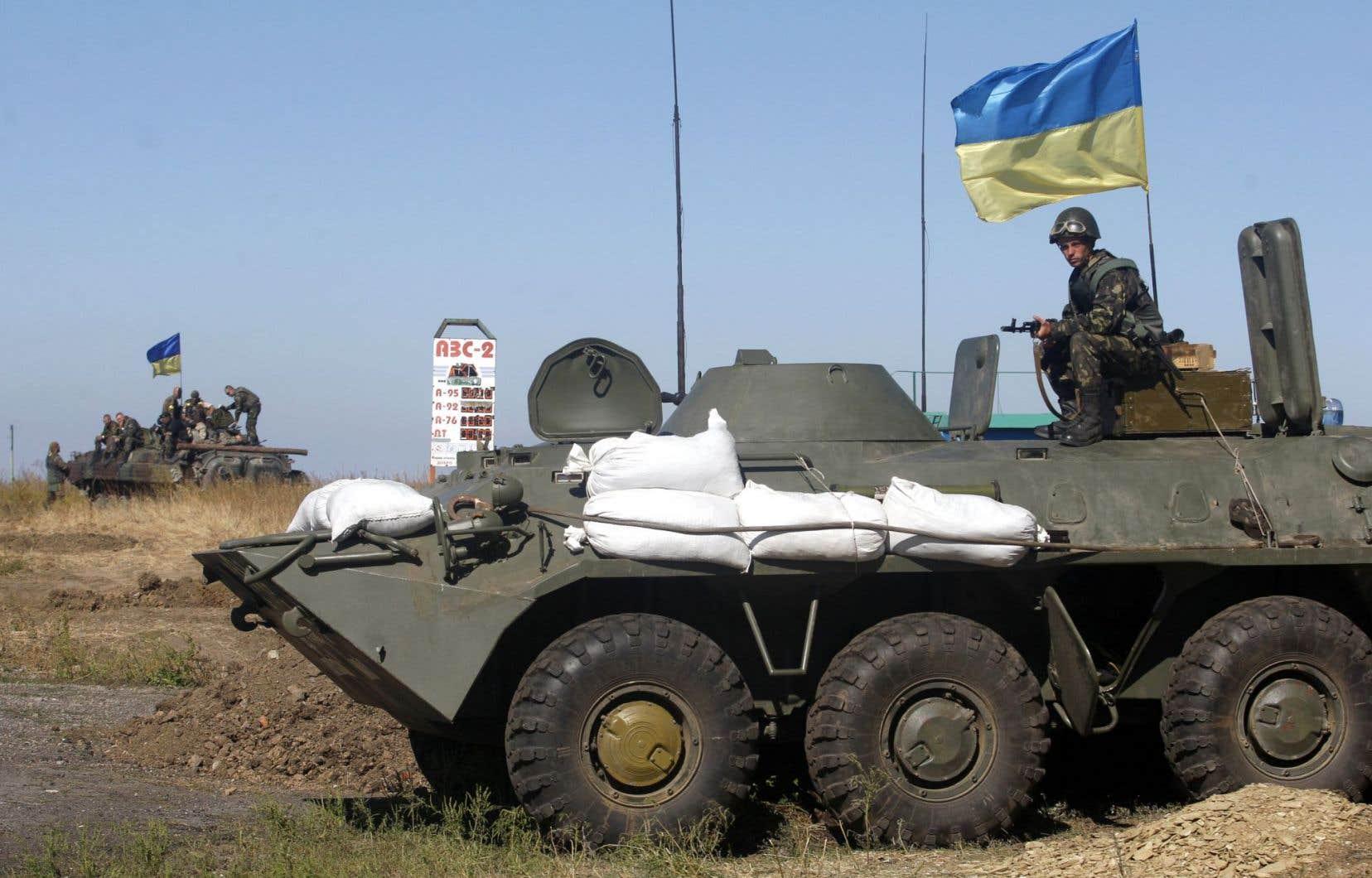 Avec la crise ukrianienne, s'est posé la question de l'élargissement de l'OTAN.