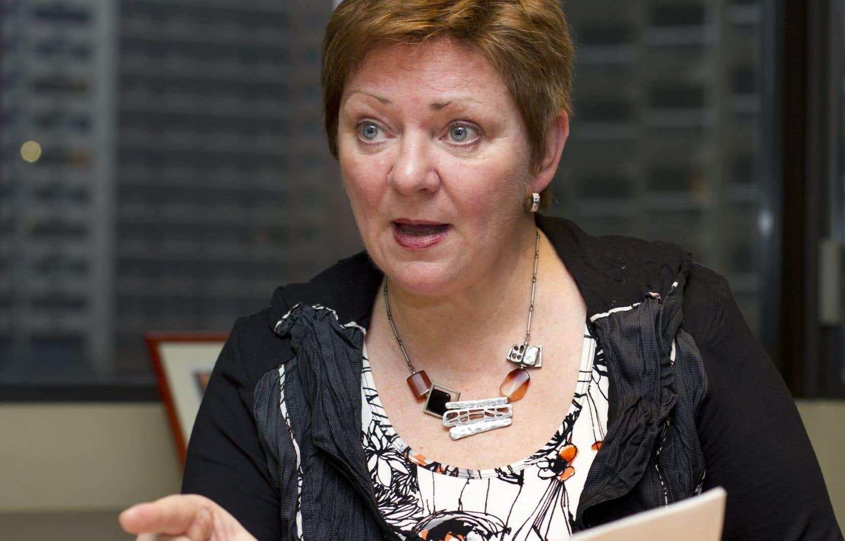 Diane Lavallée, directrice générale de l'AQESSS.