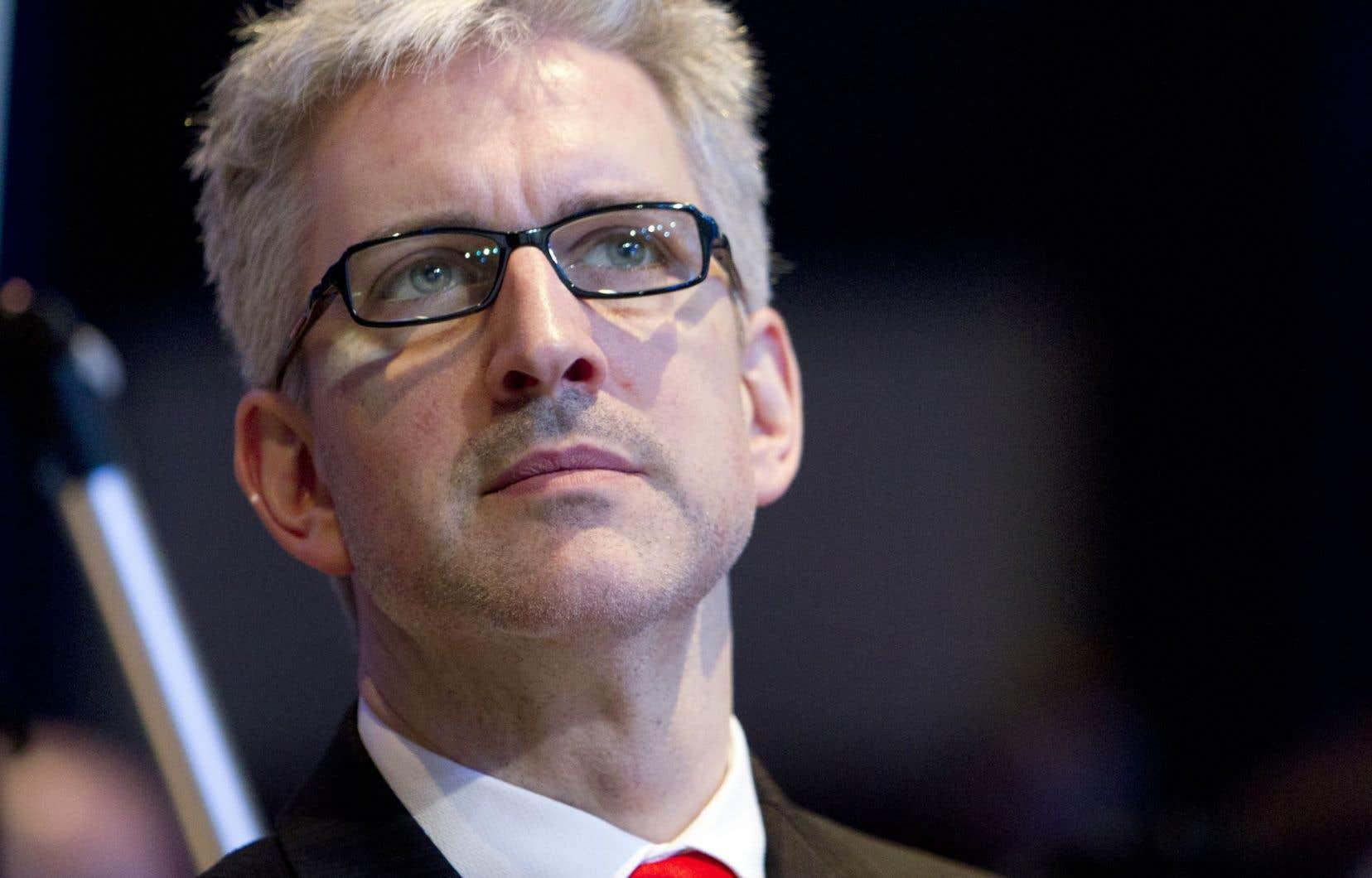 Jean-Martin Aussant, ancien chef d'Option nationale