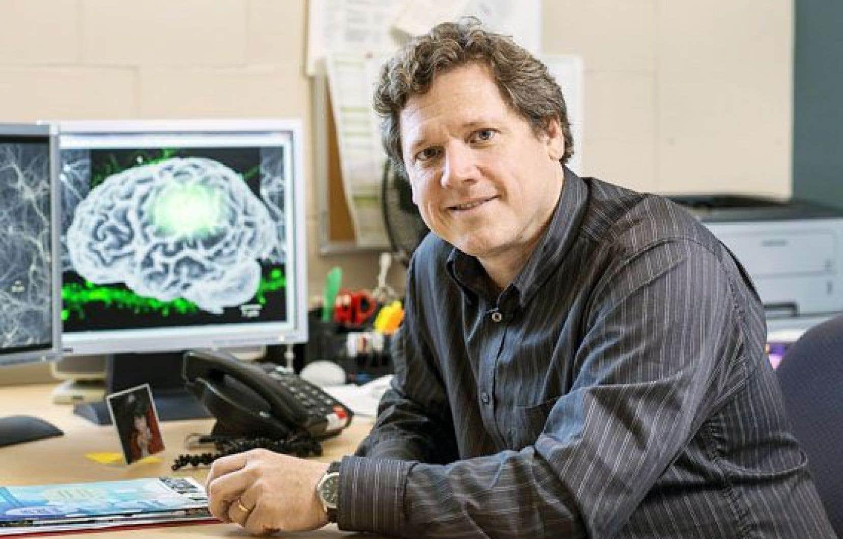 Le Fonds de recherche du Québec en santé, grâce à ses outils de financement, permet à des chercheurs comme Yves De Koninck de trouver des ressources financières ailleurs.