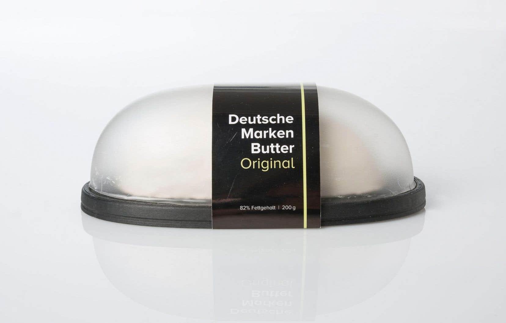 Le beurre Perfectionist de Gordon Rak, Philipp Kuehn, Katrin Kleemann (HTW - Berlin) arrive directement dans son beurrier 100% recyclable.