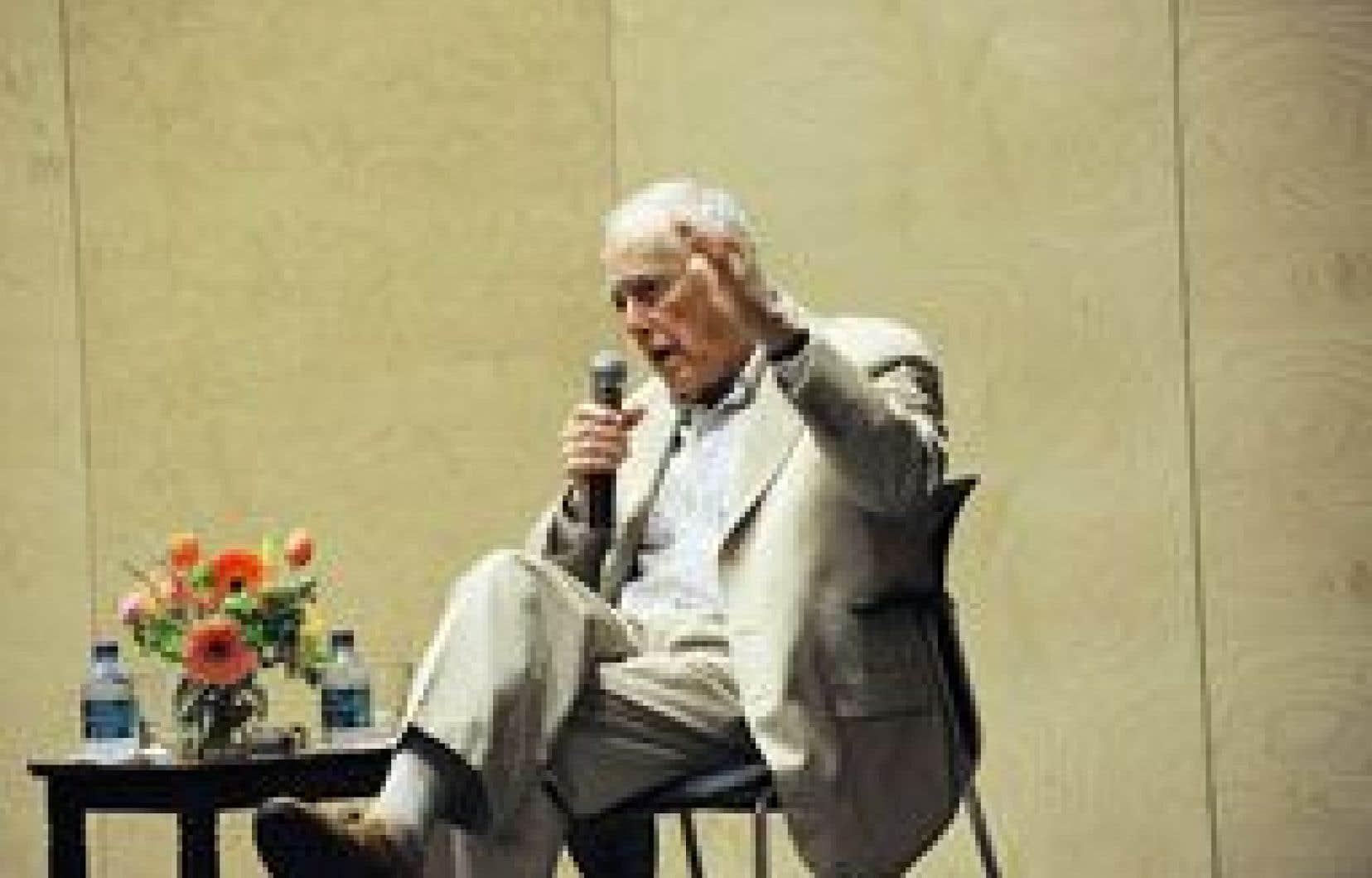 L'auteur américain James Salter en 2010