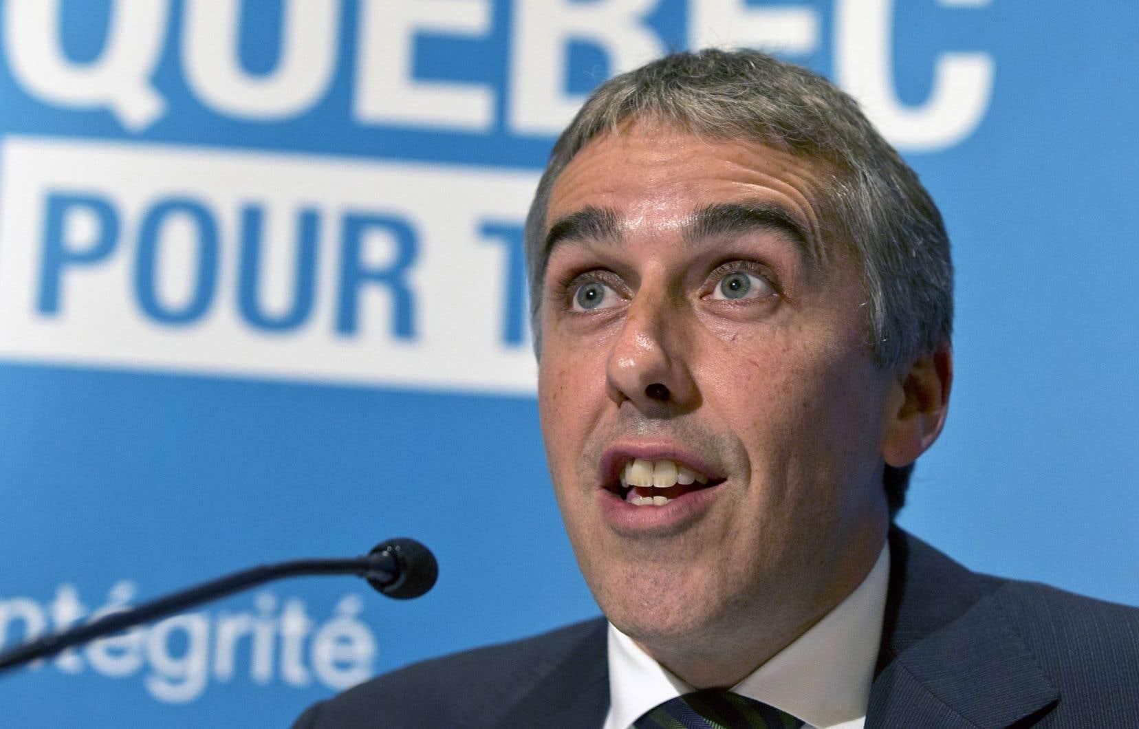 Nicolas Marceau croit que le PQ doit demeurer un parti «social-démocrate», un parti de centre gauche.