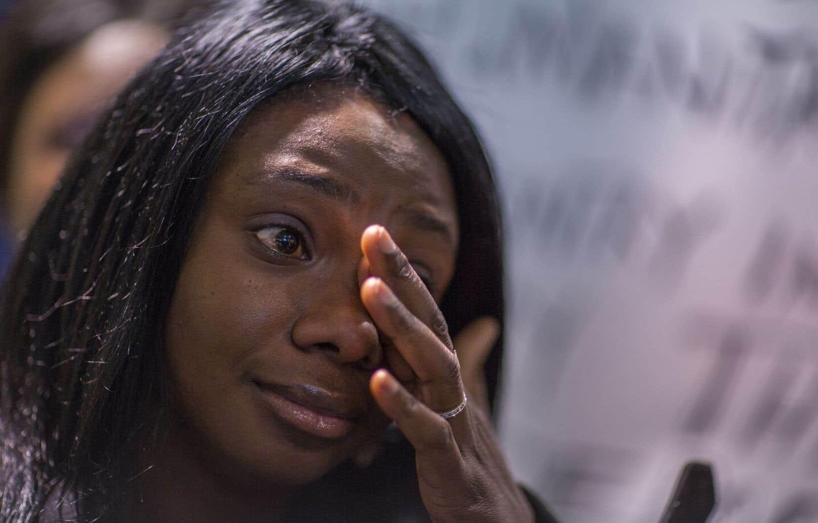 La Nigériane Winifred Agimelen, au Canada depuis 2008, a fait auparavant deux demandes de statut de réfugiée, toutes deux refusées.
