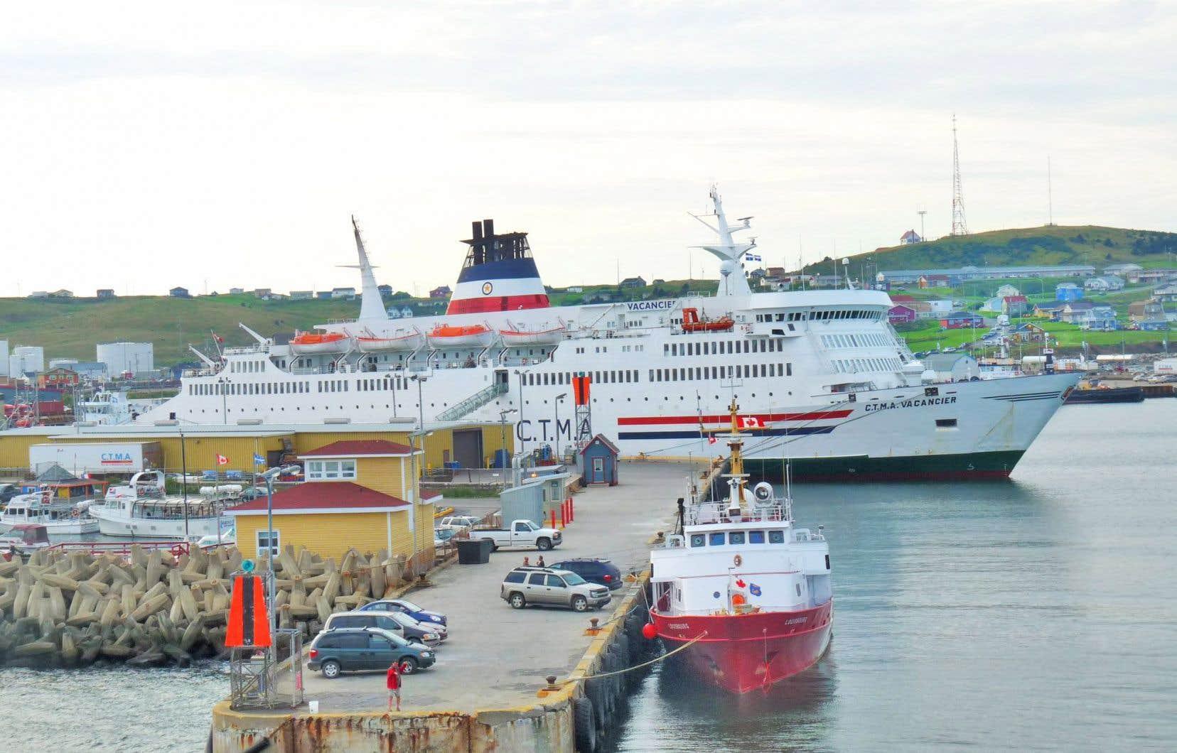 Port de Cap-aux-Meules