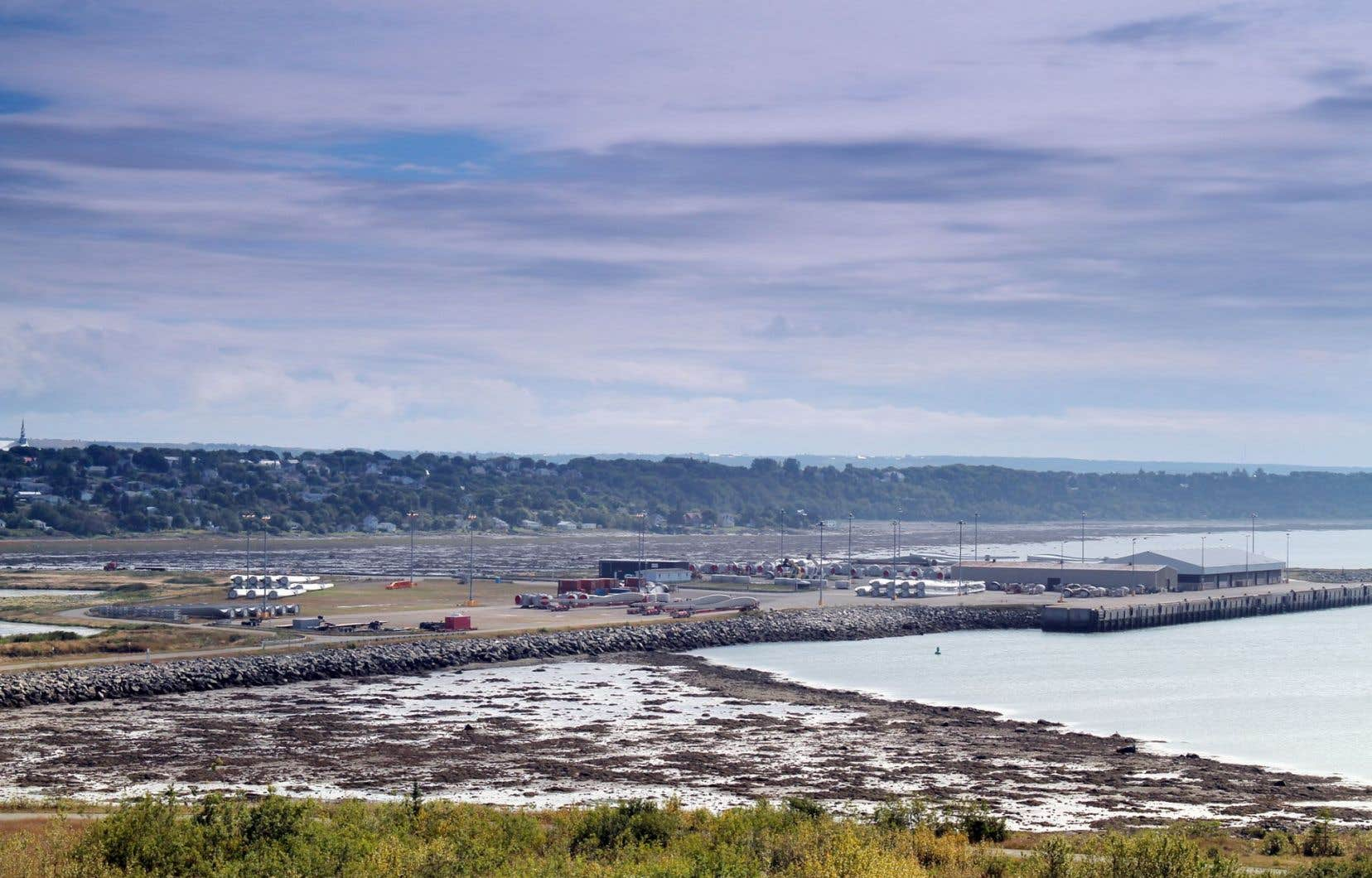 Le port de Cacouna