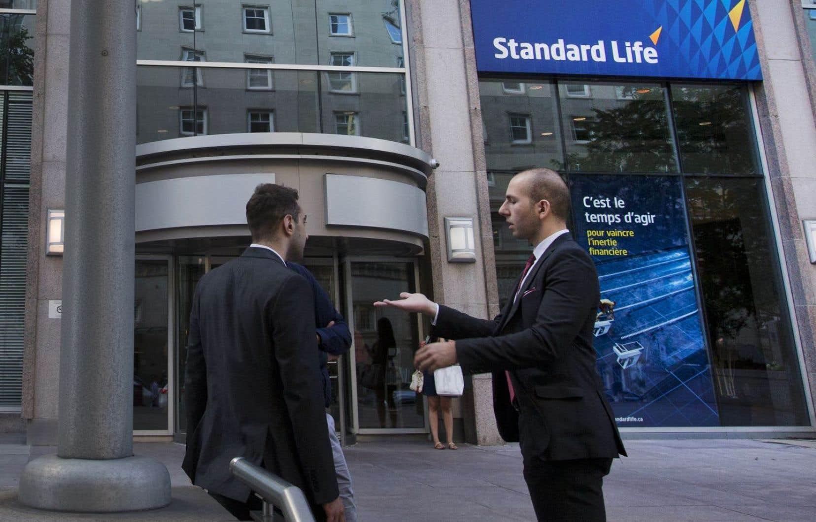 Manuvie a acquis les actifs canadiens de la Standard Life.