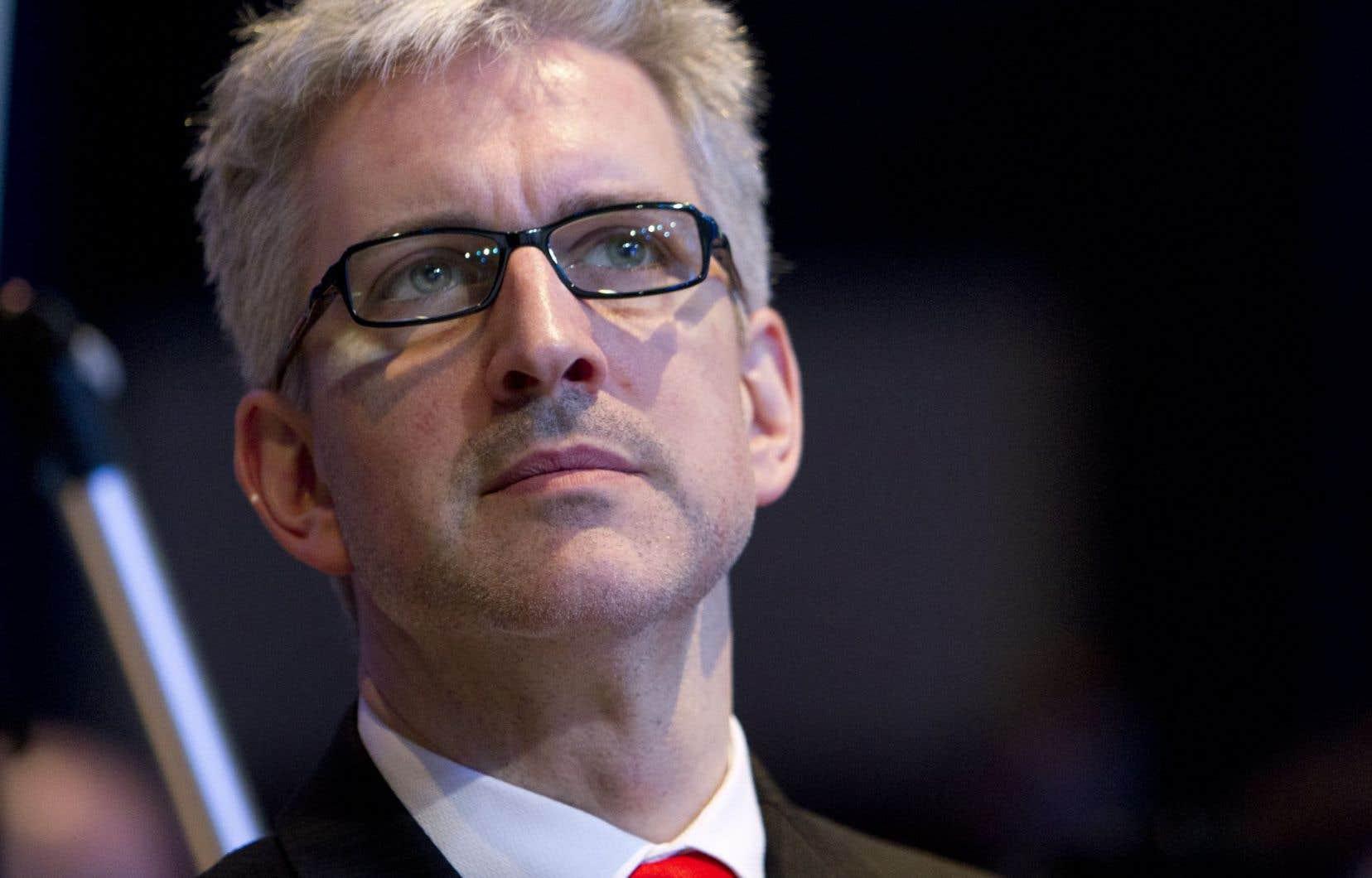 L'ex-chef d'Option nationale, Jean-Martin Aussant