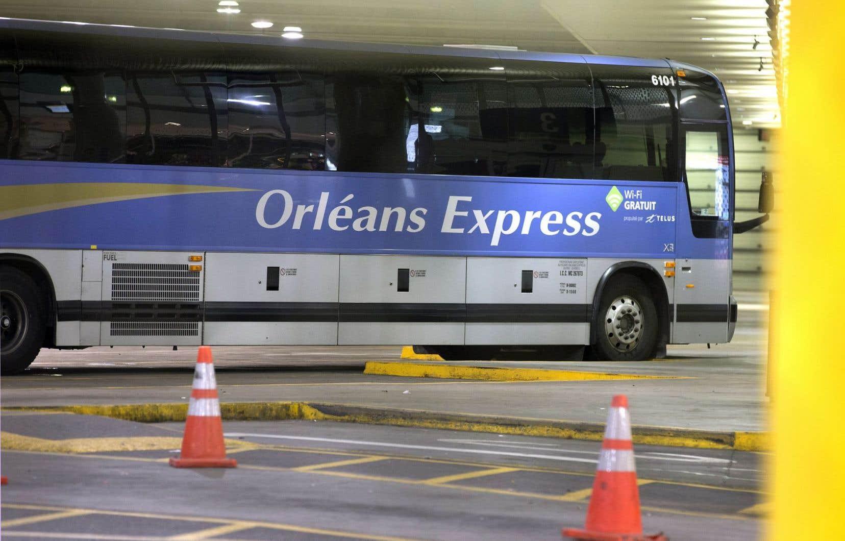 Orléans Express souhaite se concentrer sur certaines villes du réseau, car plus aucune ligne, même pas Québec-Montréal, n'est rentable.