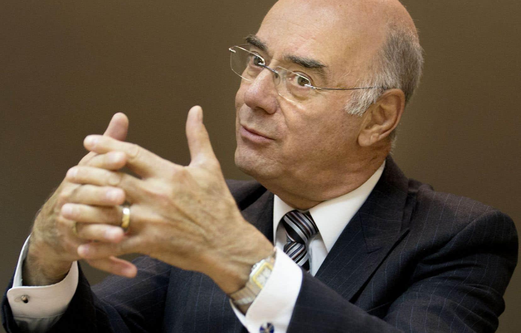 Le ministre de l'Économie, Jacques Daoust, en entrevue éditoriale au Devoir, lundi