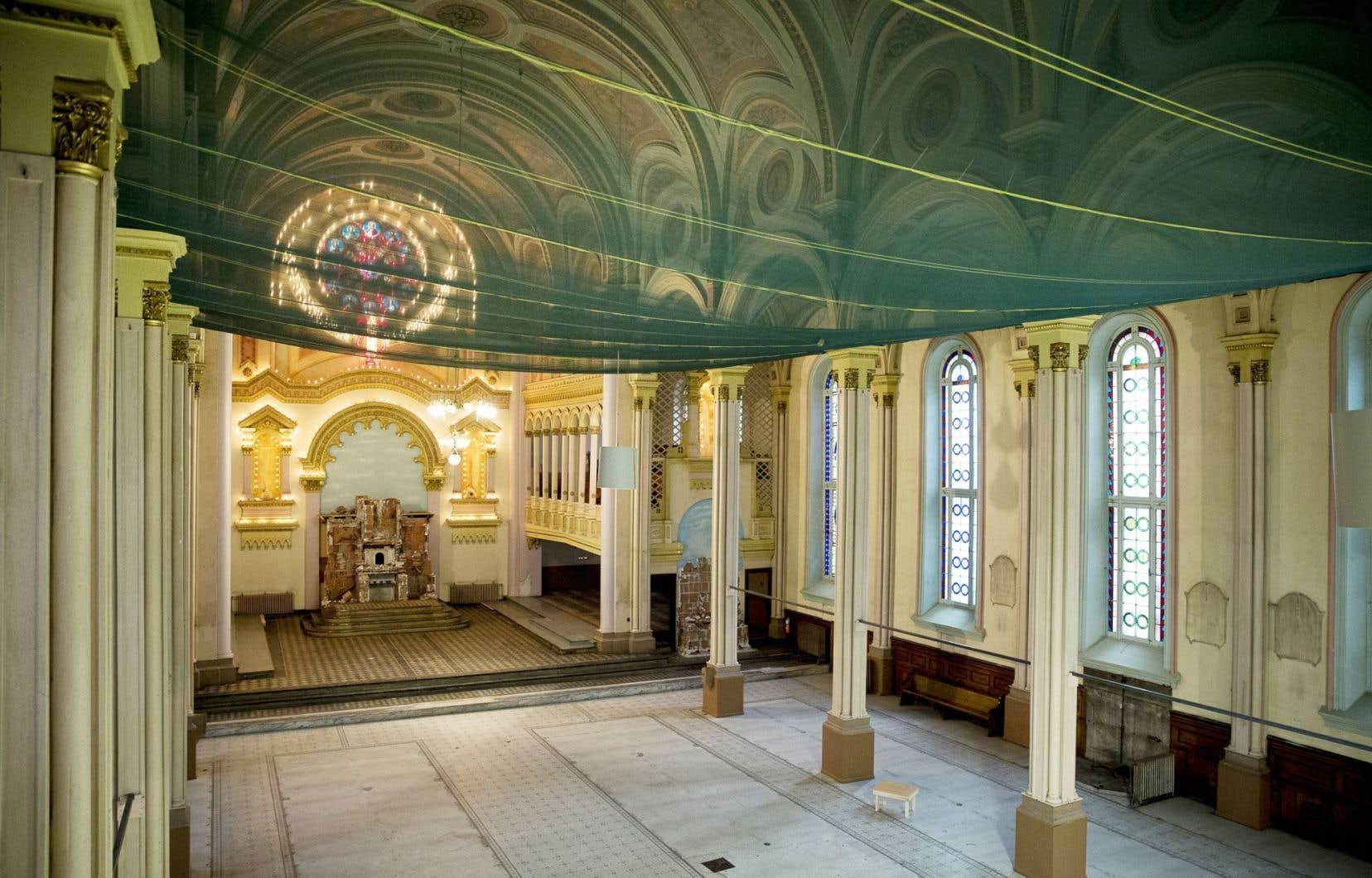 L'église où doit prendre place le projet du Cube nécessite d'importantes réparations.