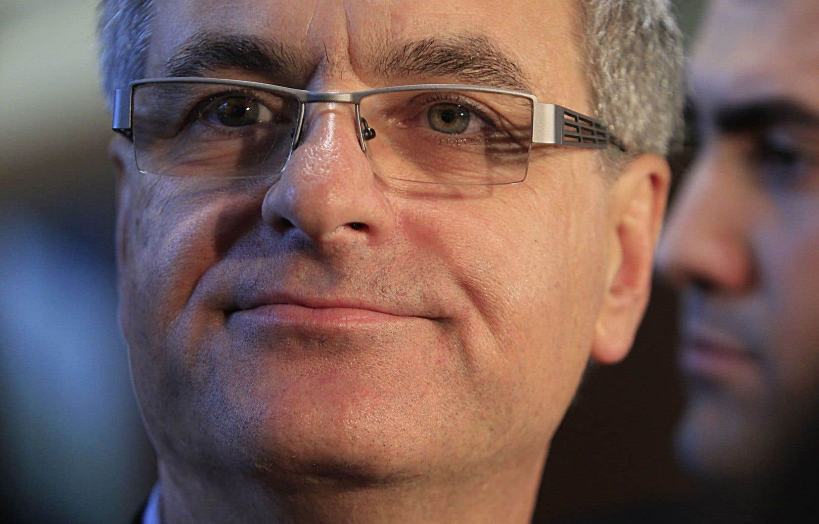 Le ministre des Affaires intergouvernementales Jean-Marc Fournier