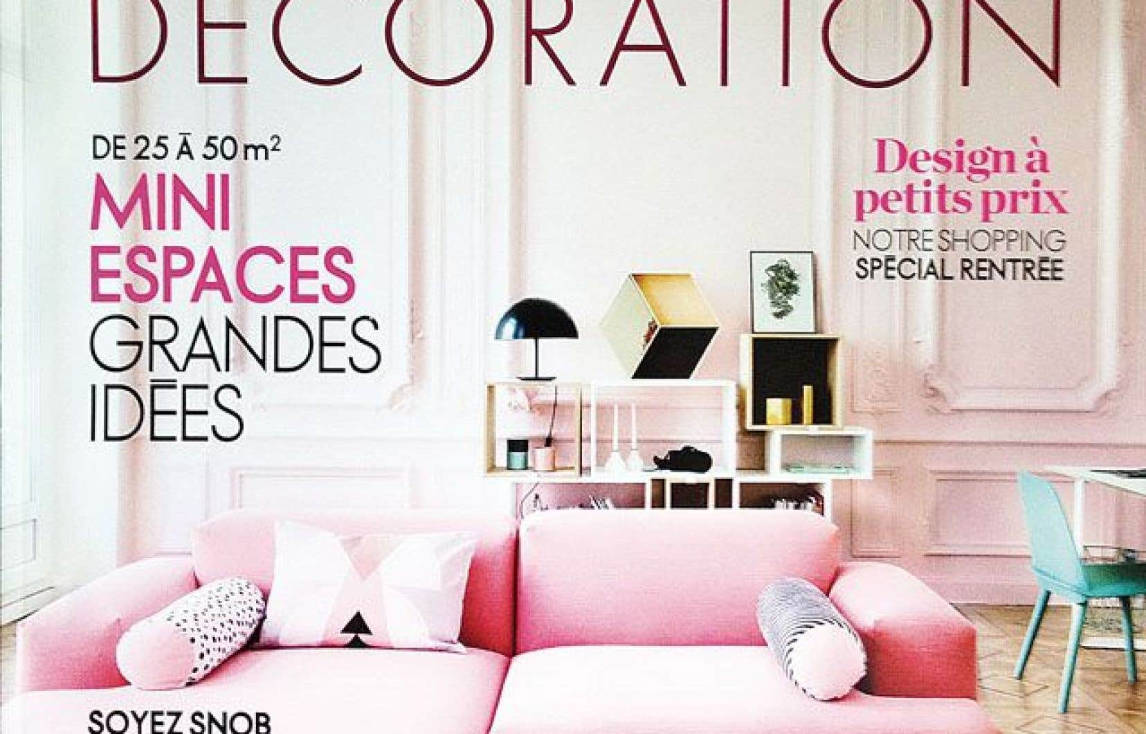 elle d coration septembre 2014 no 229 le devoir. Black Bedroom Furniture Sets. Home Design Ideas