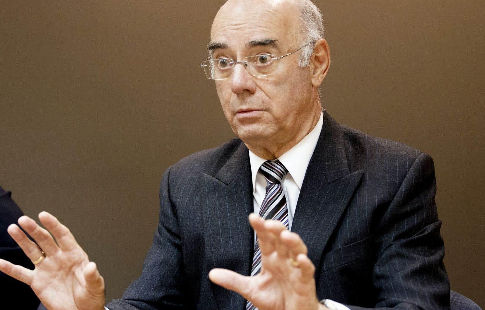 Le ministre de l'Economie, Jacques Daoust