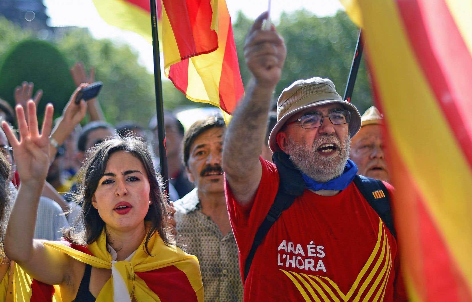 La Catalogne est bien déterminée à tenir un référendum le 9 novembre prochain malgré le désaccord de Madrid.