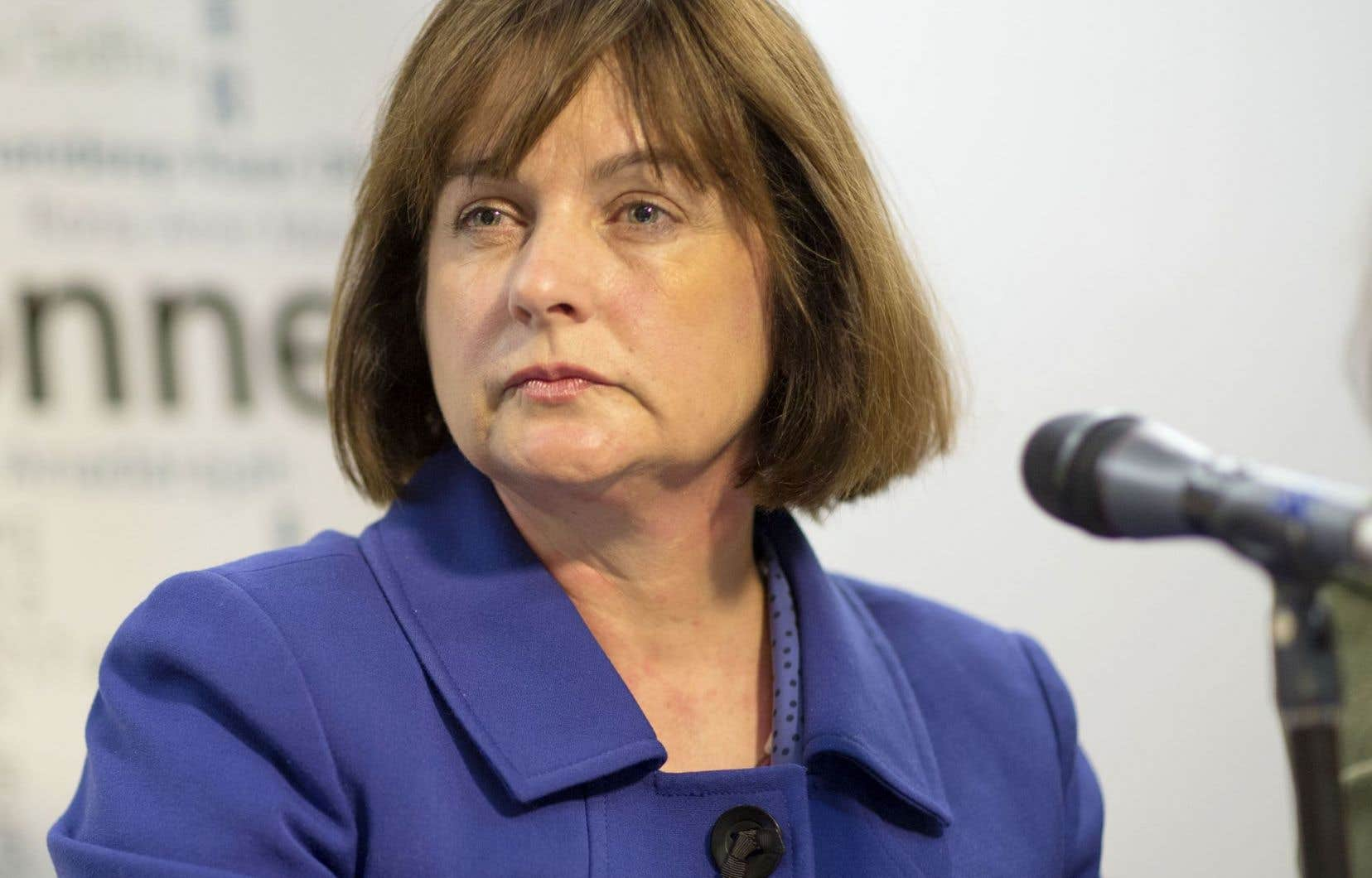 La présidente du Conseil du statut de la femme, Julie Miville-Dechêne