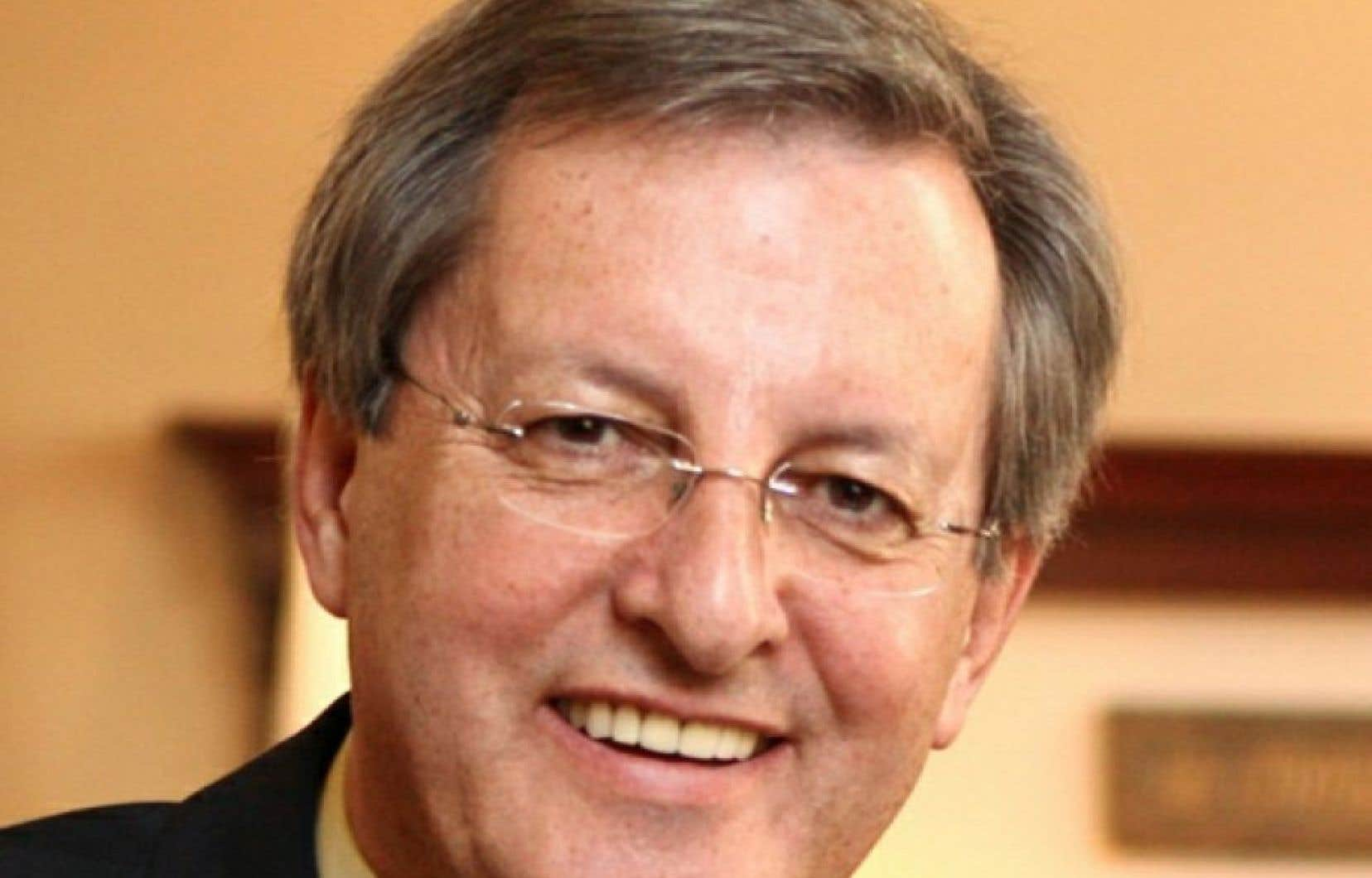 Jean Tremblay, maire de Saguenay.