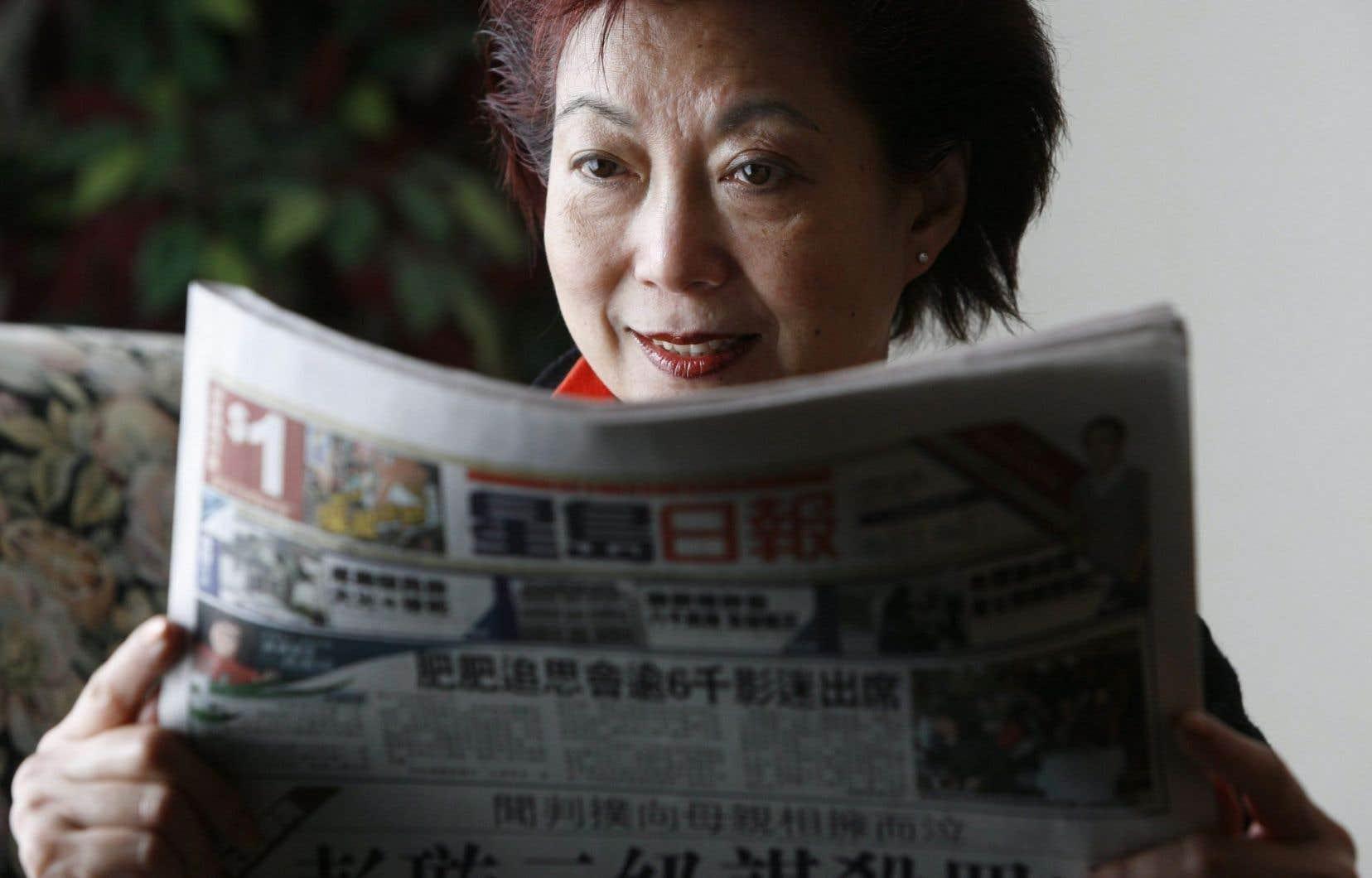 Près de 75 % des Canadiens d'origine chinoise ou sud-asiatique continuaient de lire ou d'écouter au moins une fois par semaine un média ethnique.