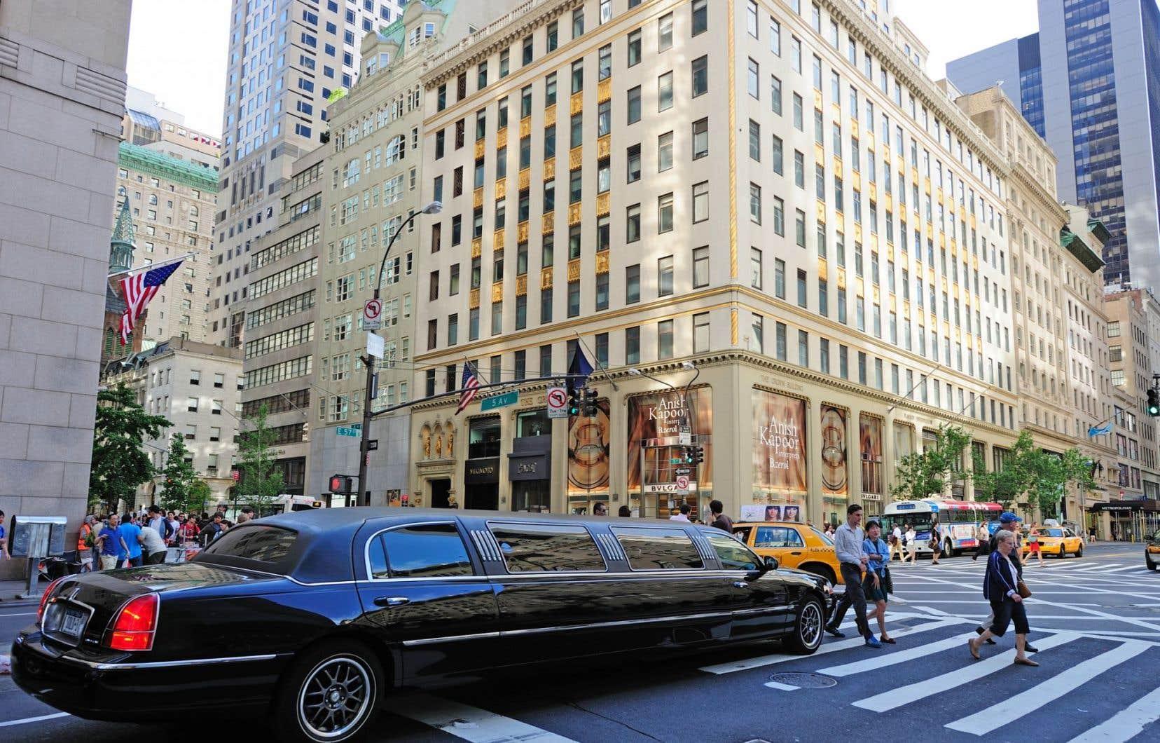 La 5e avenue à New York