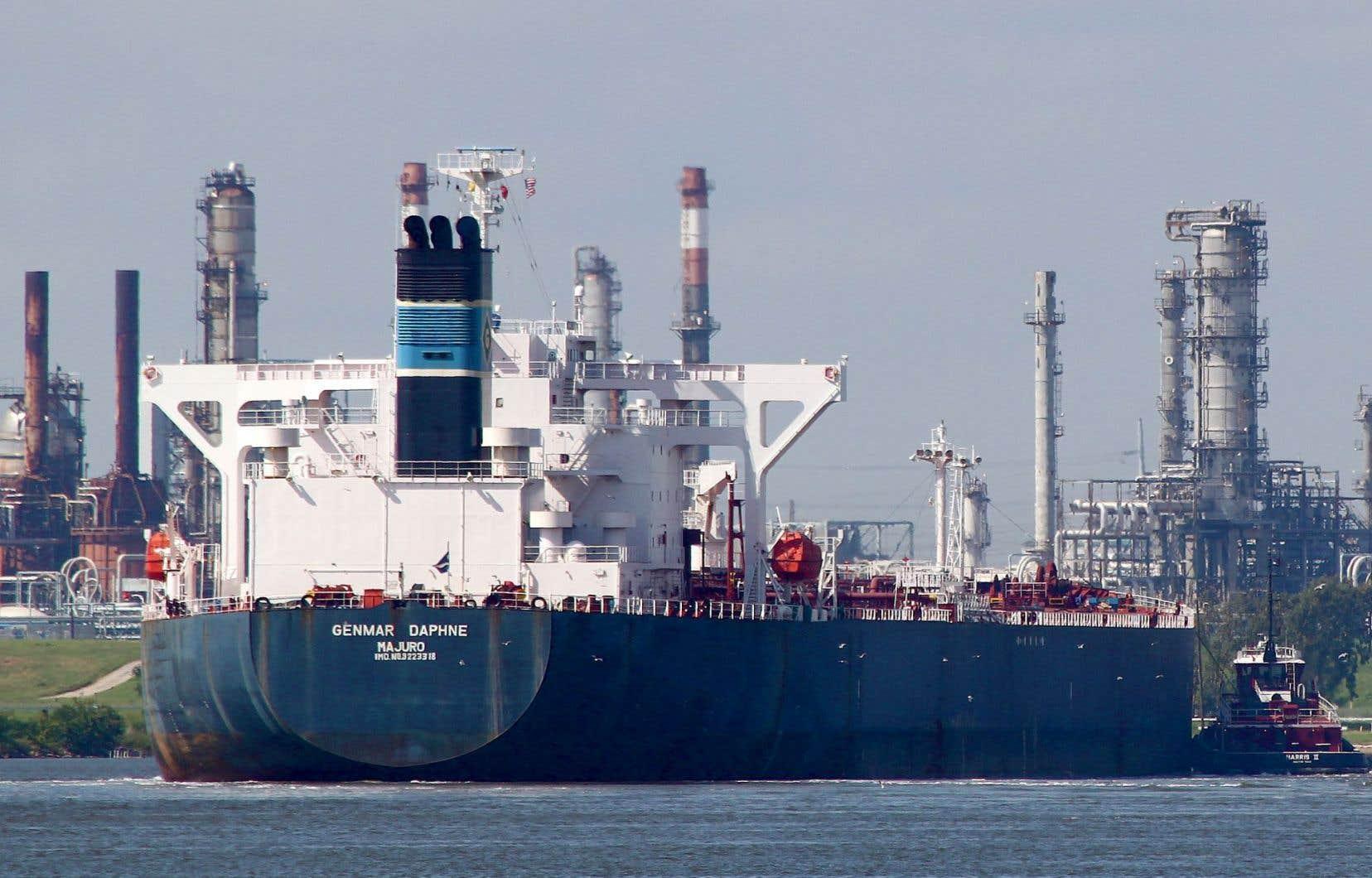 Le «Genmar Daphne» devait arriver lundi à destination, et ce, afin de venir charger des dizaines de milliers de tonnes de brut albertain.