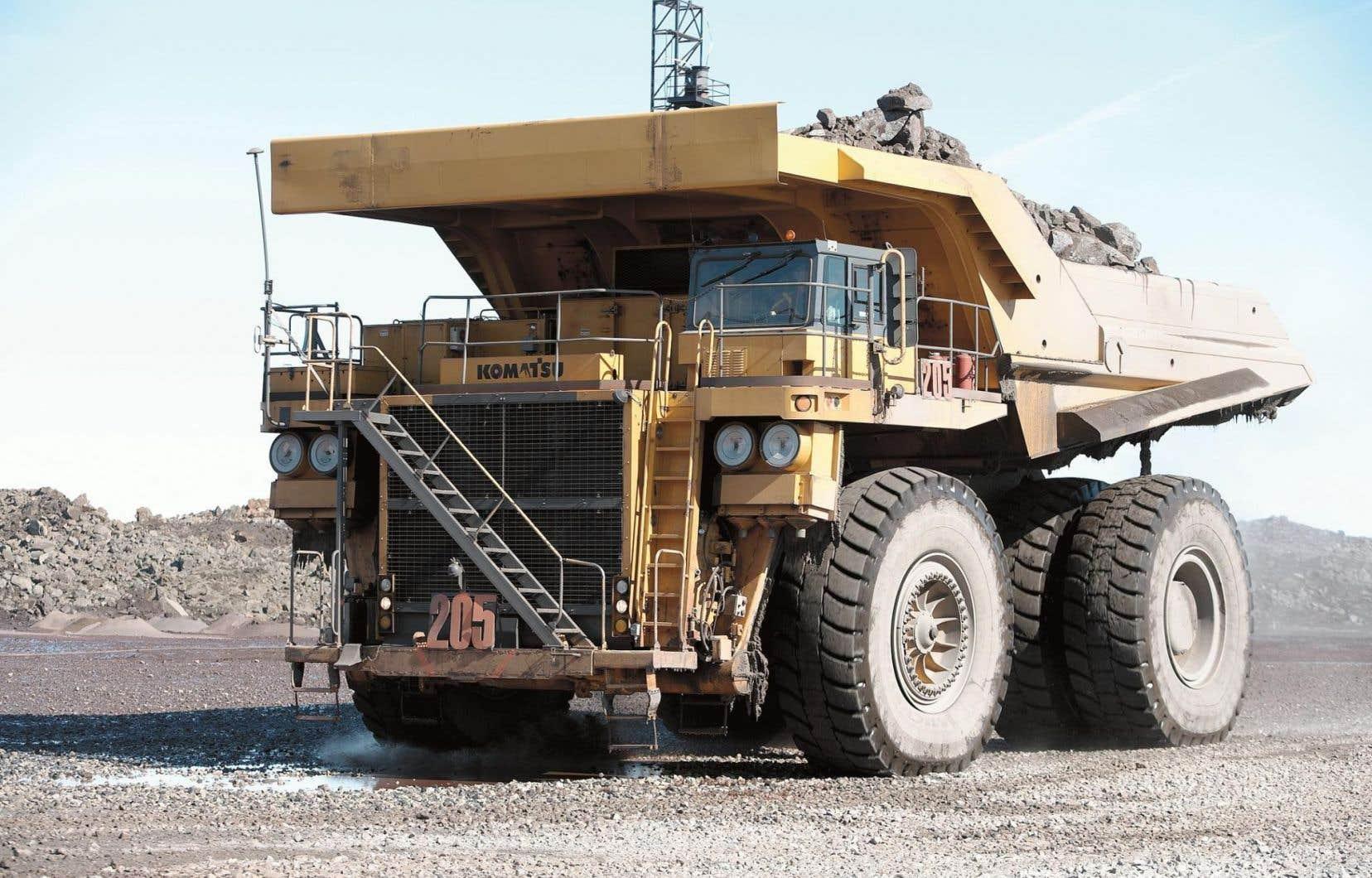 Selon l'Institut de la statistique du Québec, le portrait a été positif dans des secteurs comme l'extraction minière.