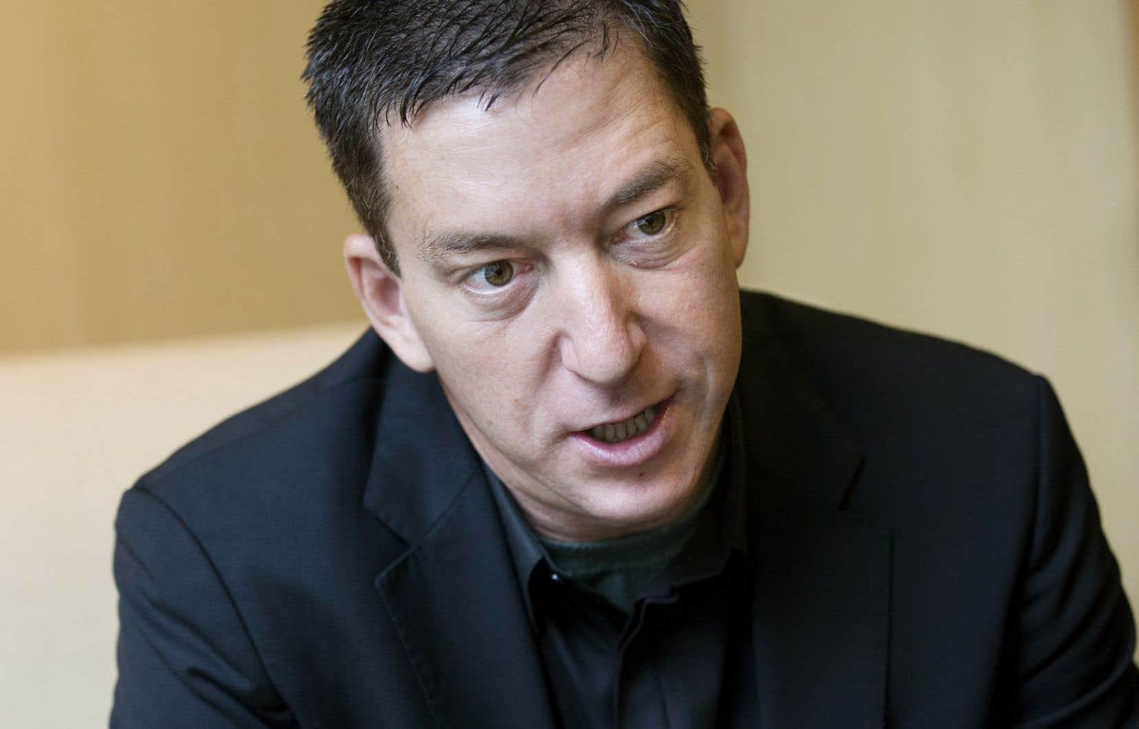 Le journaliste américain Glenn Greenwald