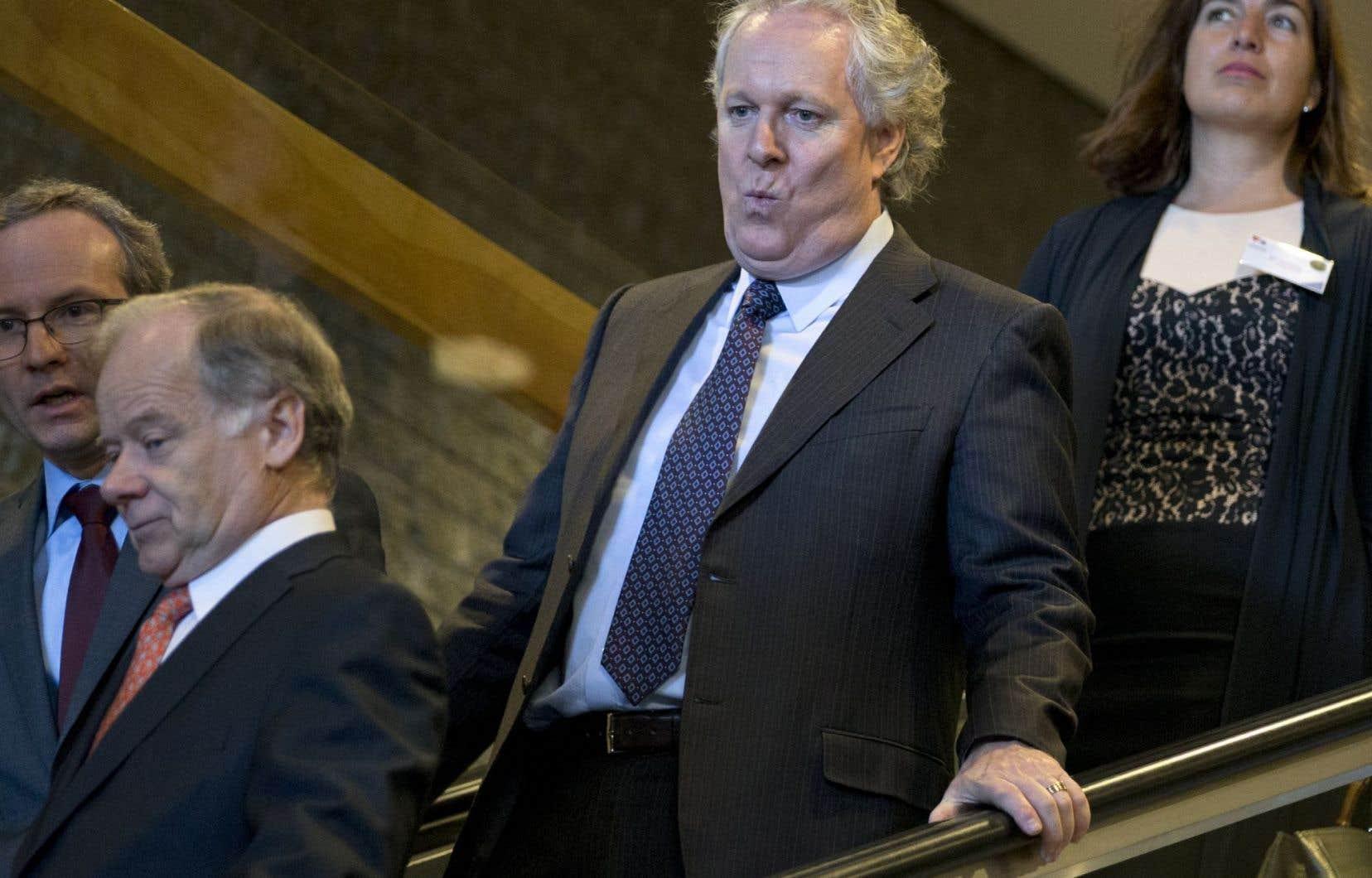 L'ex-premier ministre Jean Charest