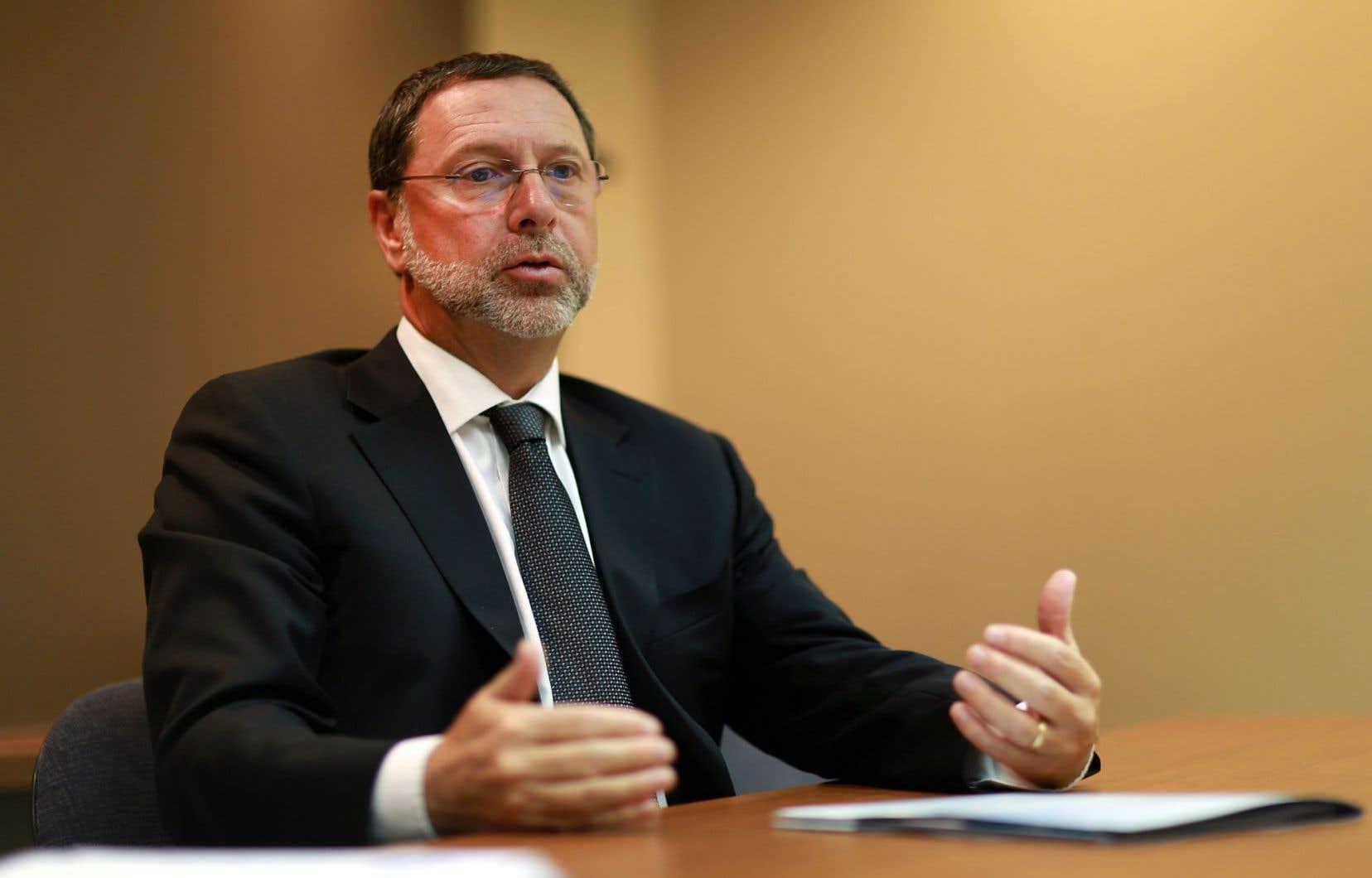 Yves-Thomas Dorval, du Conseil du patronat du Québec