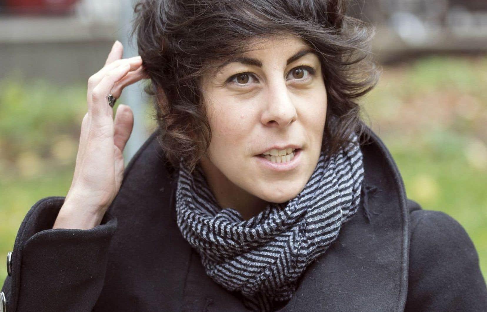 Annick Daigneault, candidate dans la circonscription scolaire Ville-Marie, à Montréal