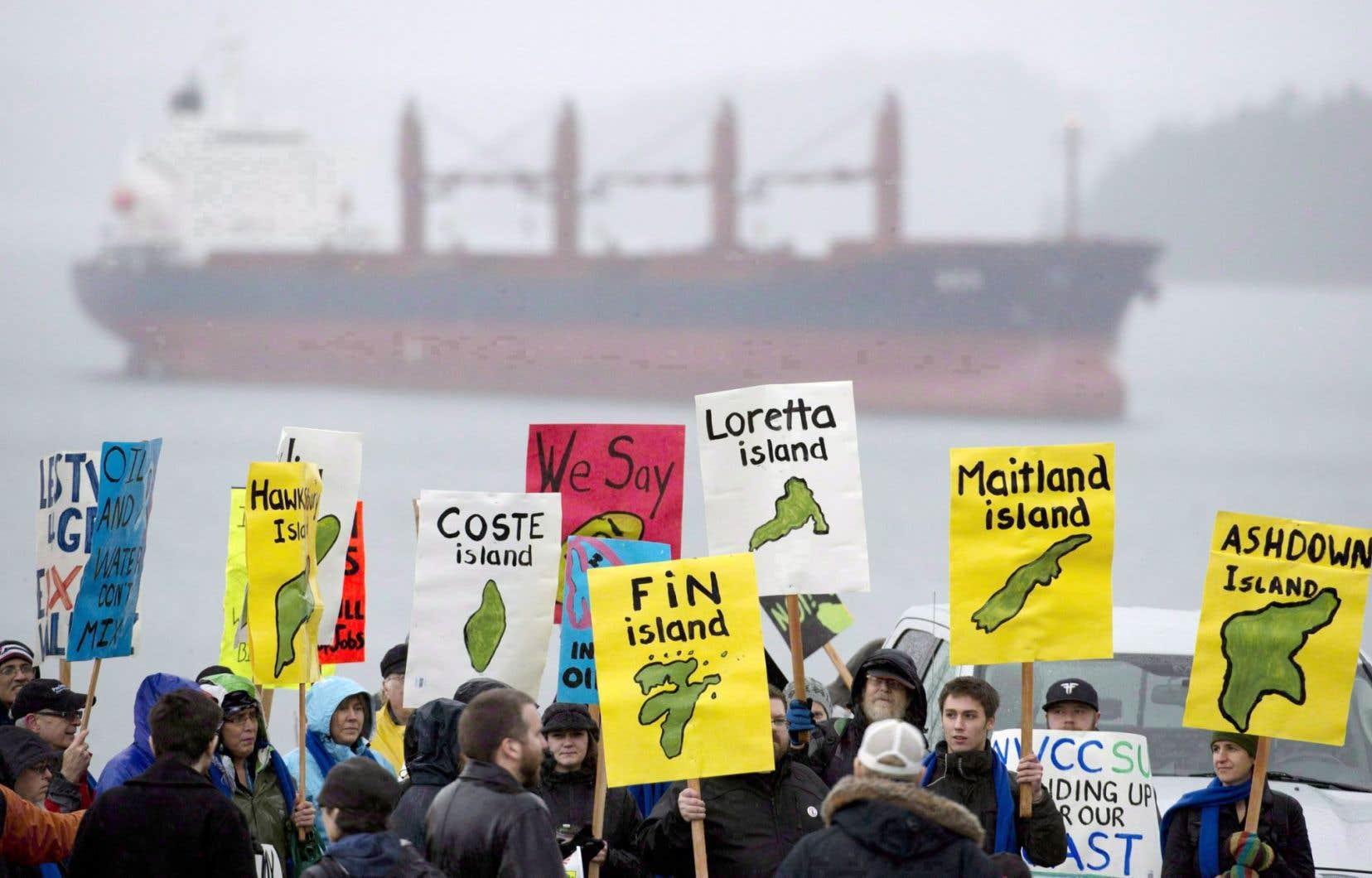 Le pétrole de l'Alberta est bloqué à l'ouest.