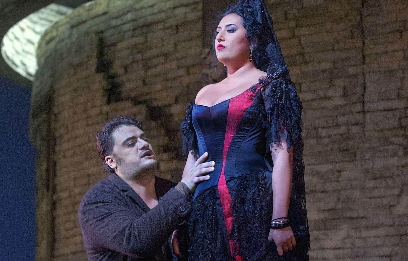 La reprise de 2014 de Carmen repose sur Anita Rachvelishvili, qui présente une animalité instinctive, et non pas jouée.