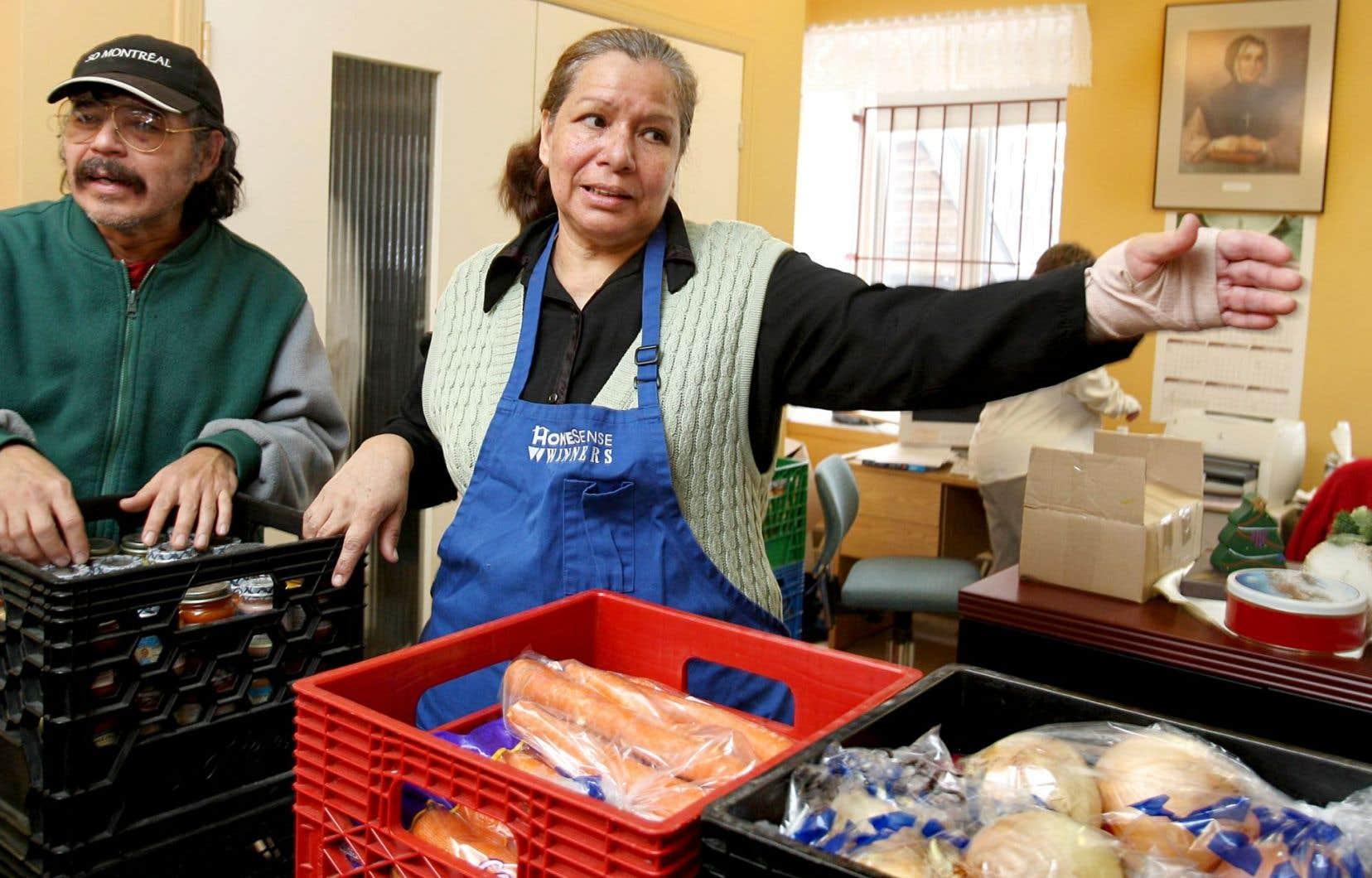 La fermeture guette également la Maison du partage d'Youville, une banque alimentaire de Pointe-Saint-Charles.