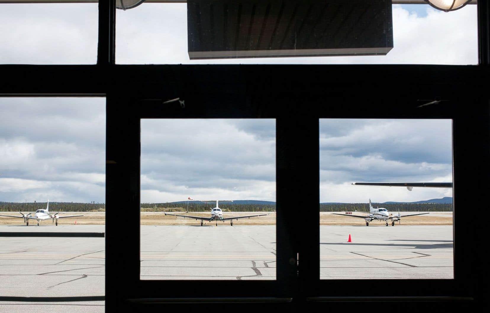 L'aéroport de Wabush, au Labrador