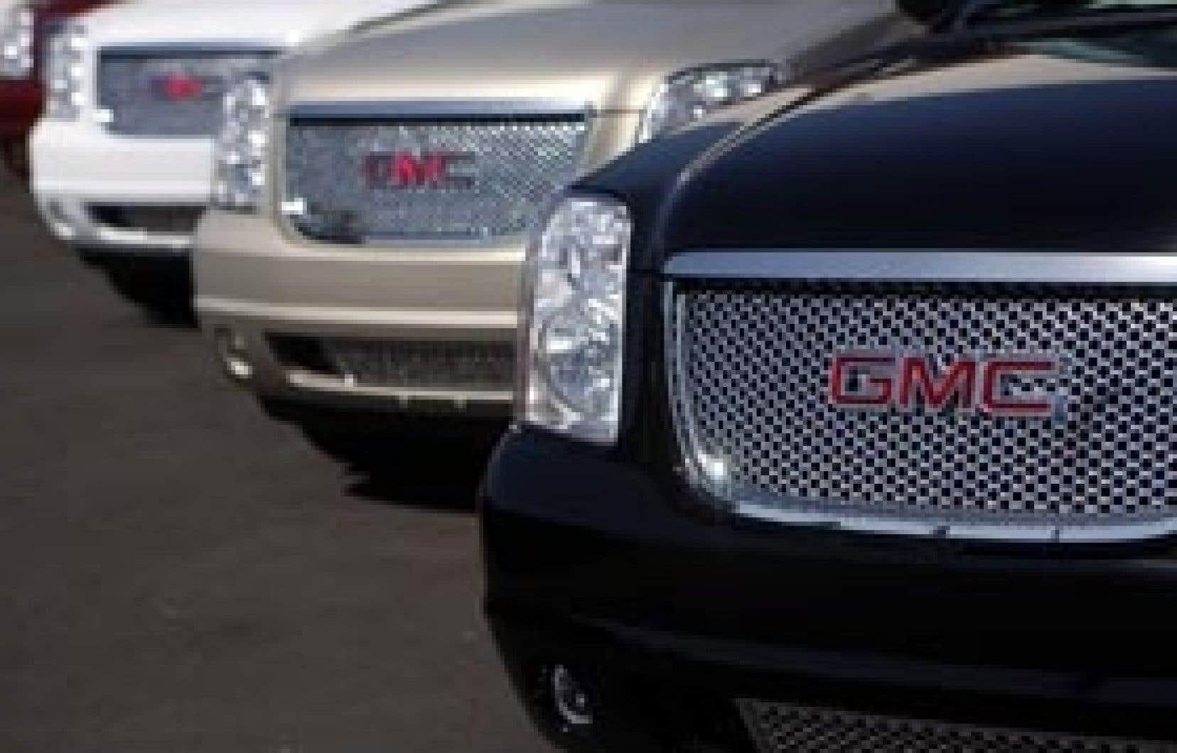GM a annoncé fin avril un nouveau plan de restructuration prévoyant de fermer 16 usines et de supprimer environ 21 000 emplois.