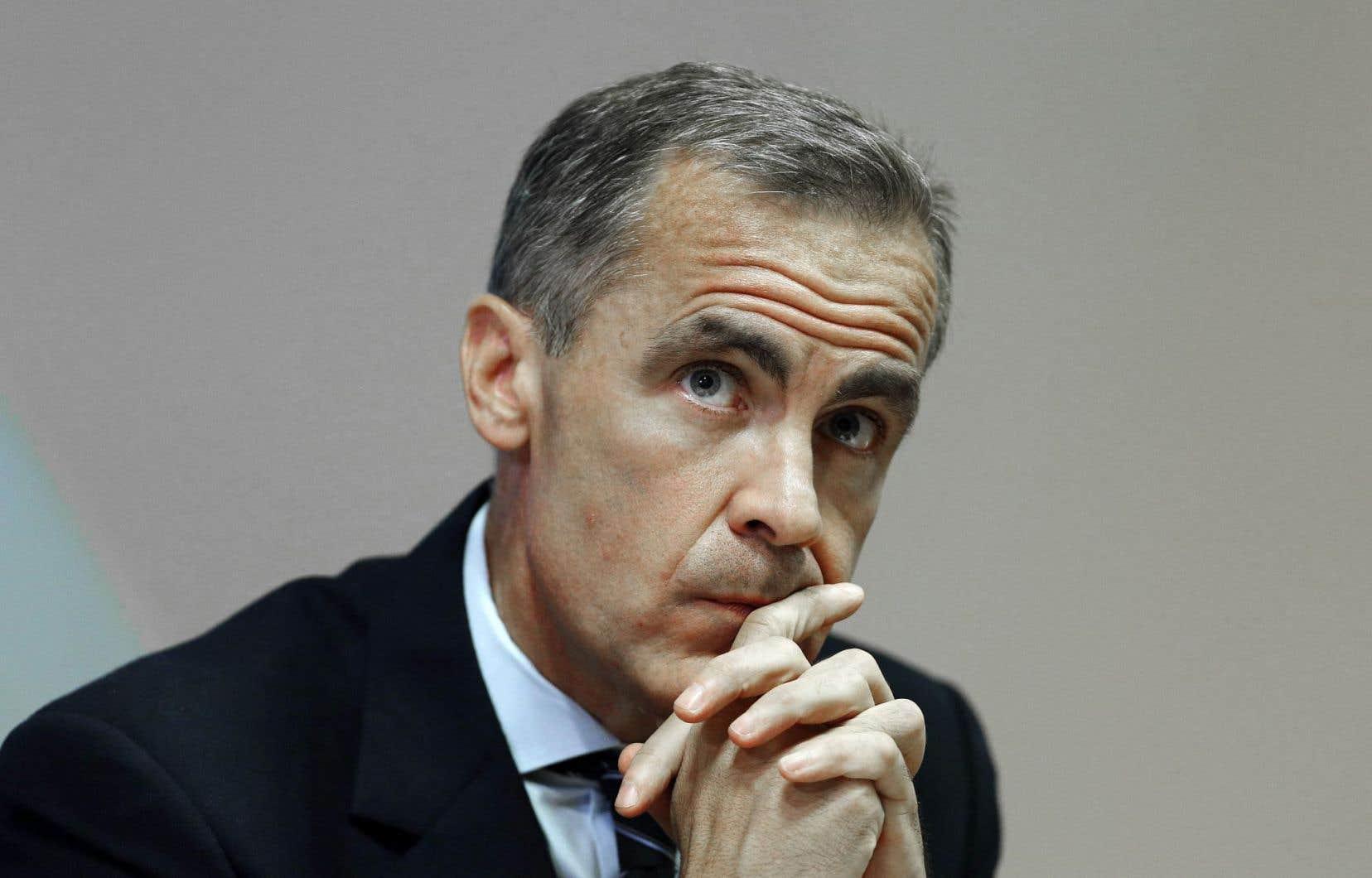 Mark Carney préside les travaux du Conseil de stabilité financière.